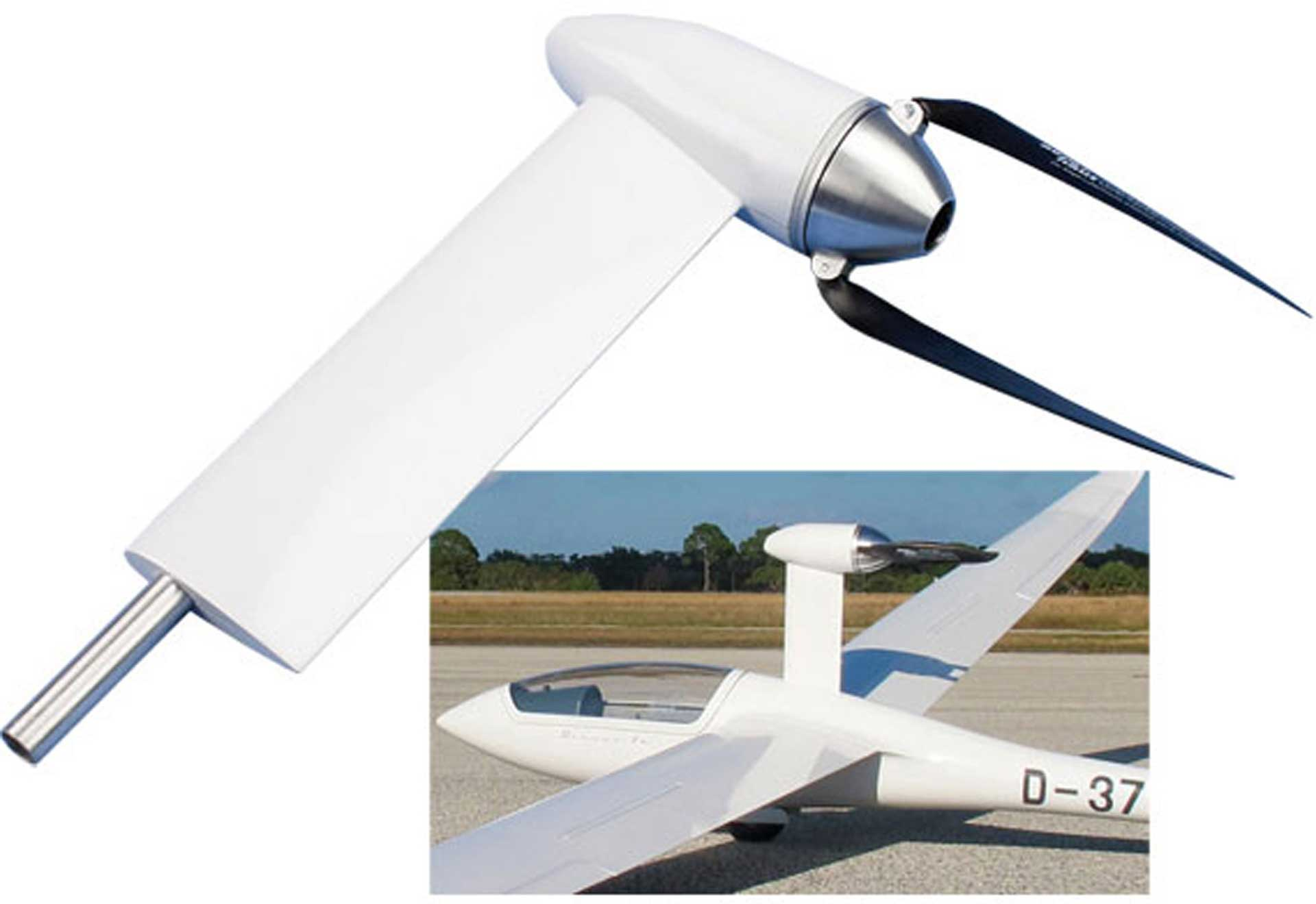 TOPMODEL ENGINE CAP FOR GLIDER BIS CA.13KG SAILPLANE POWER POD LAUNCHING SYSTEM