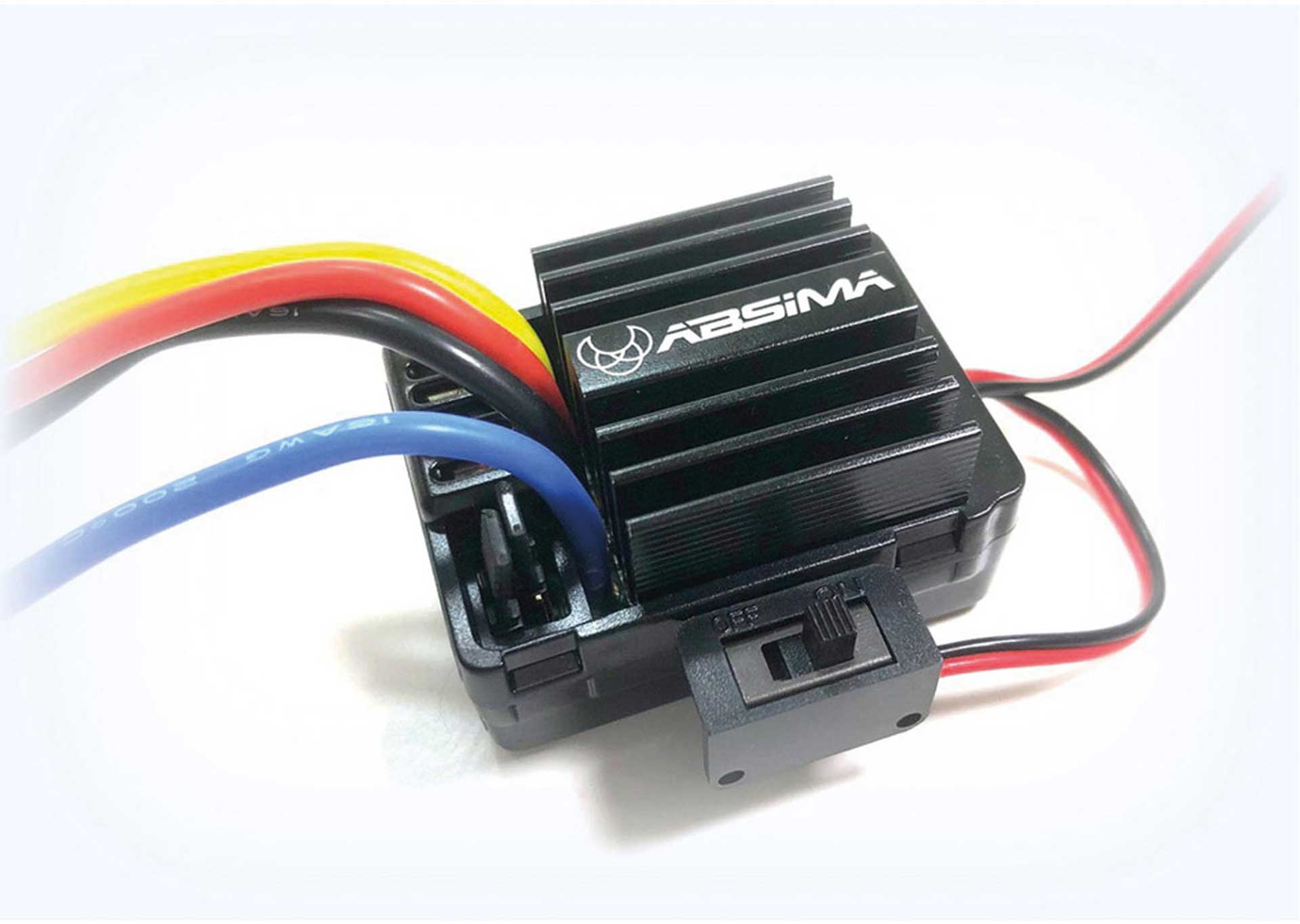 ABSIMA BRUSHED CONTROLLER FOR CRAWLER & BOATS 40A 01.OKT