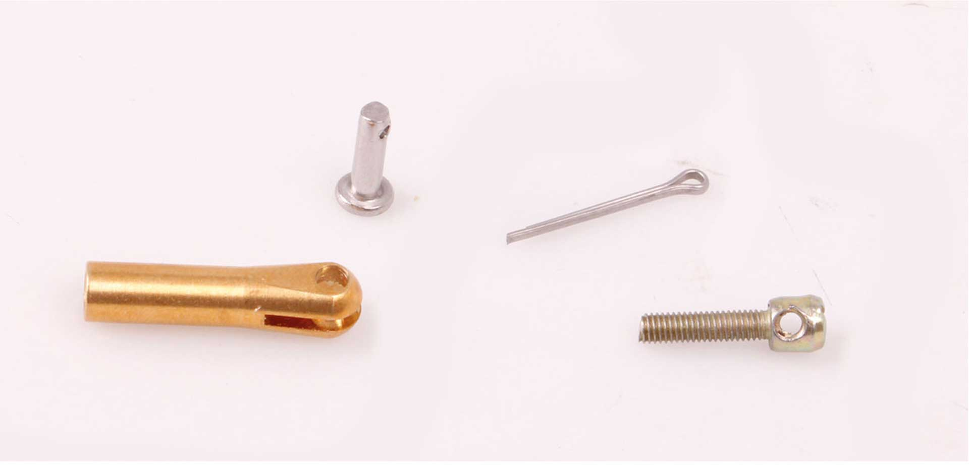 VALUEPLANES TENSION CABLE CONNECTION BRASS 10PCS. with bolt and safety pin