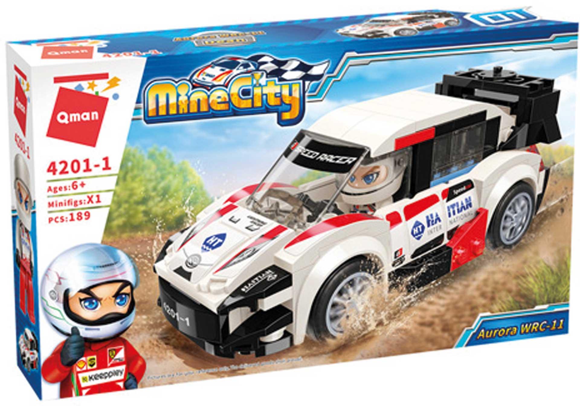 QMan MineCity Aurora WRC-11 (189 Teile)