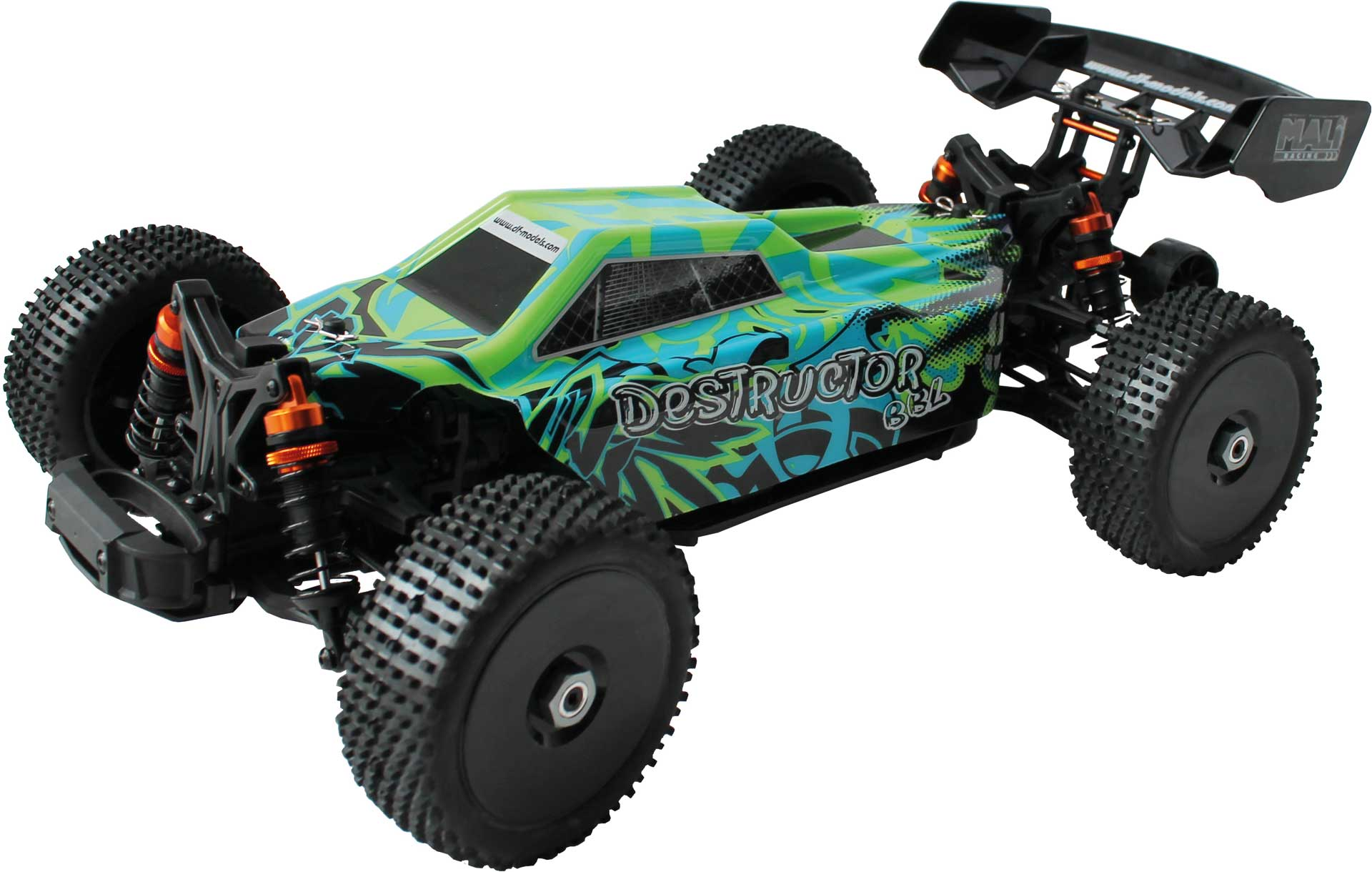 DRIVE & FLY MODELS Destructor BBL - 1:8 Buggy brushless
