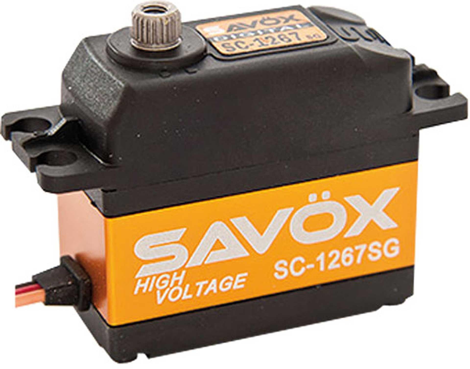 SAVÖX SC-1267SG 7.4V CORELESS SERVO