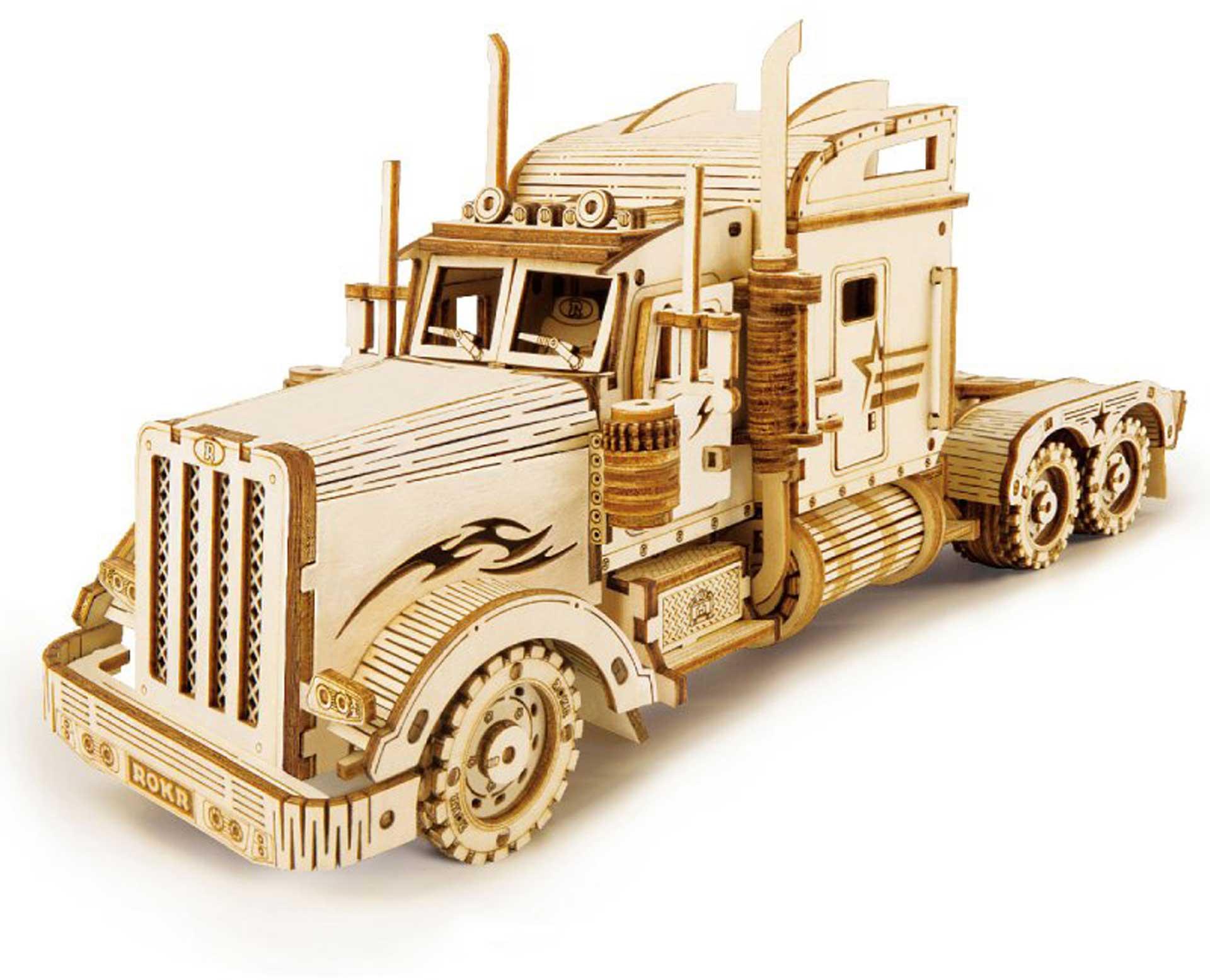 PICHLER Heavy Truck (Lasercut wooden kit)