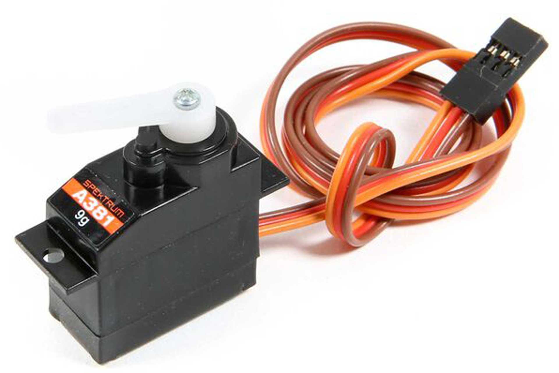 Spektrum 9g Mini Servo 400mm Servo Lead