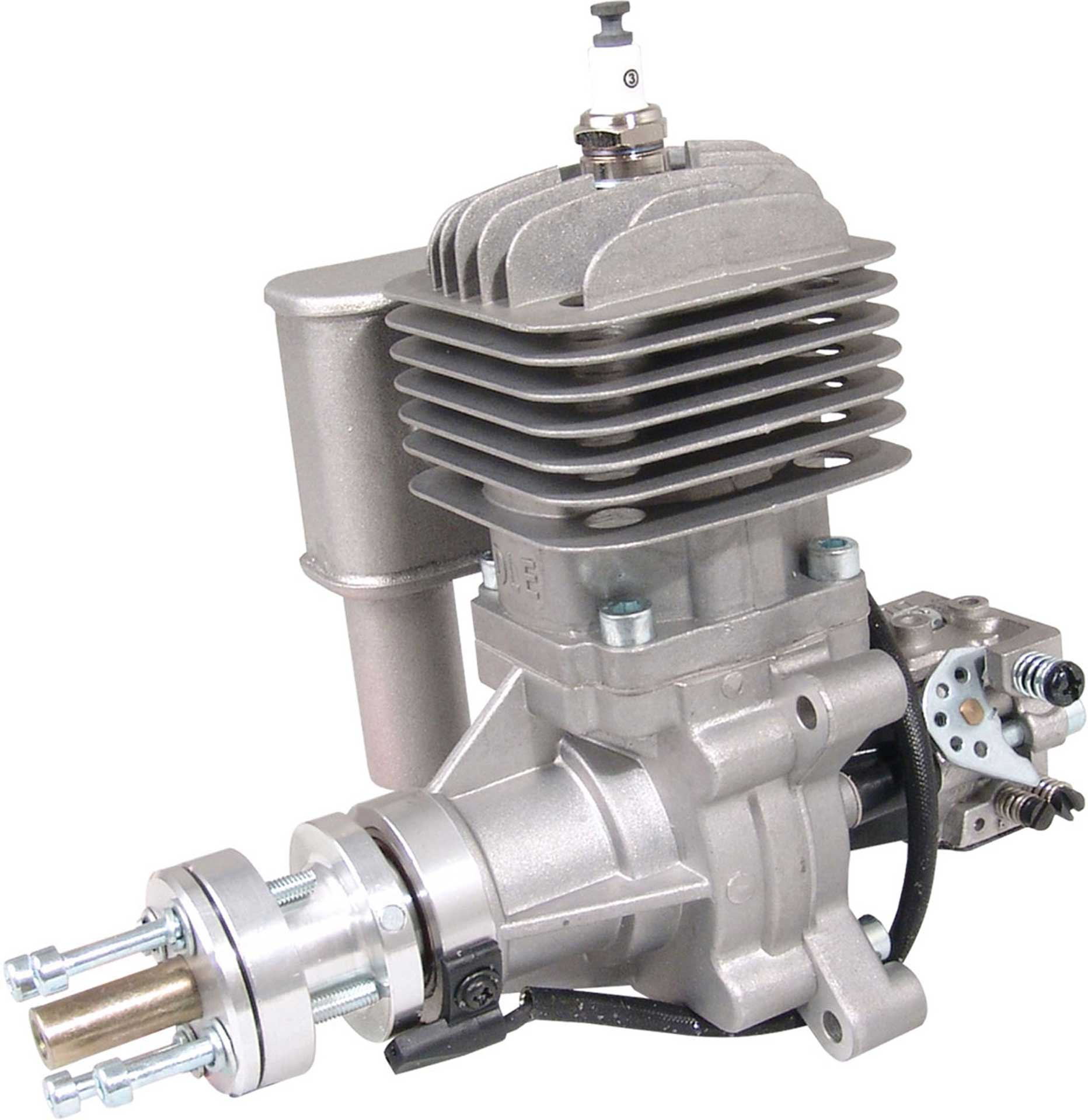 DLE Engines DLE 30 BENZIN MOTOR SEITENAUSLASS