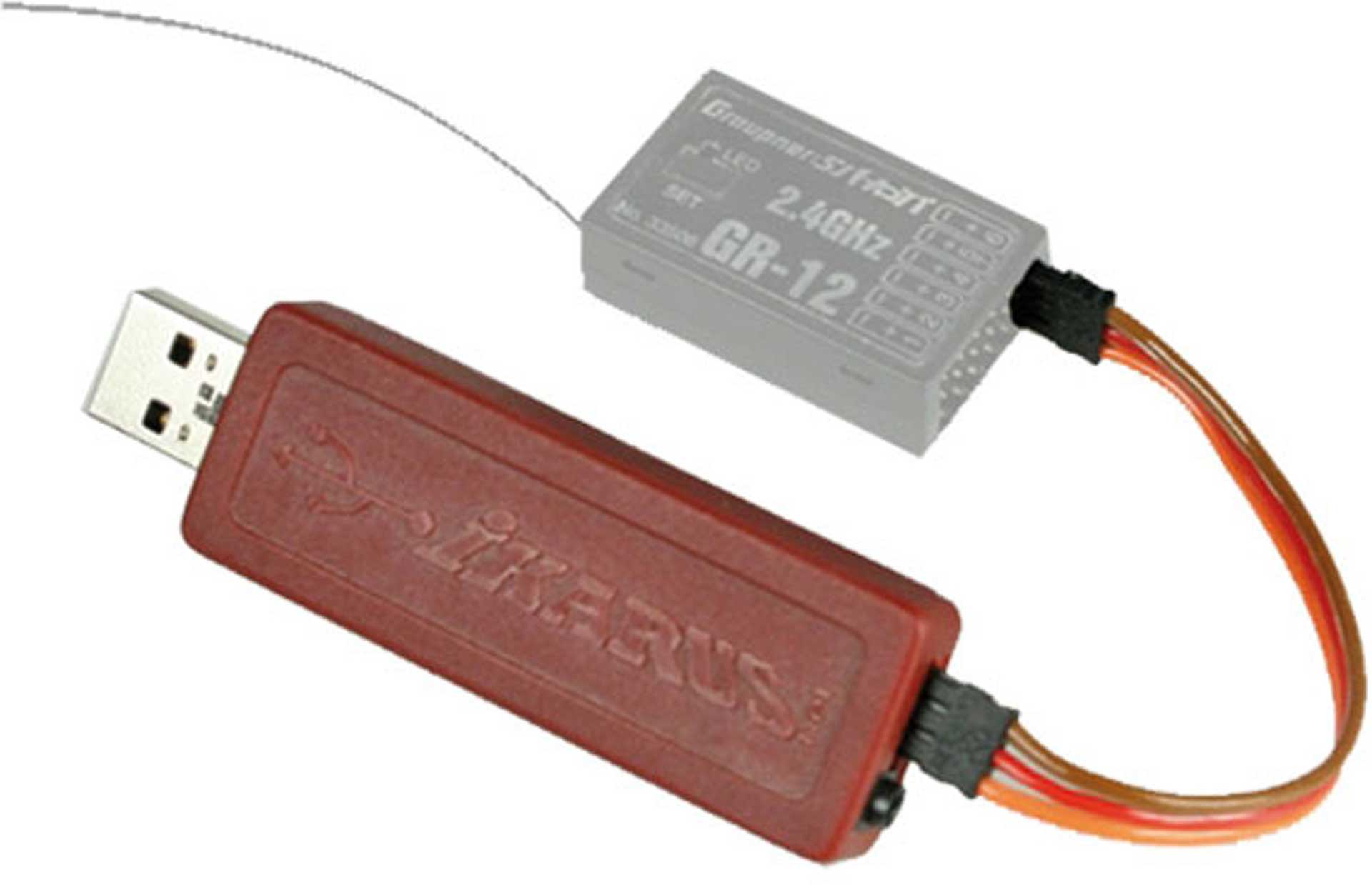 IKARUS USB-Interface für PPM (HoTT/Jeti/Core)