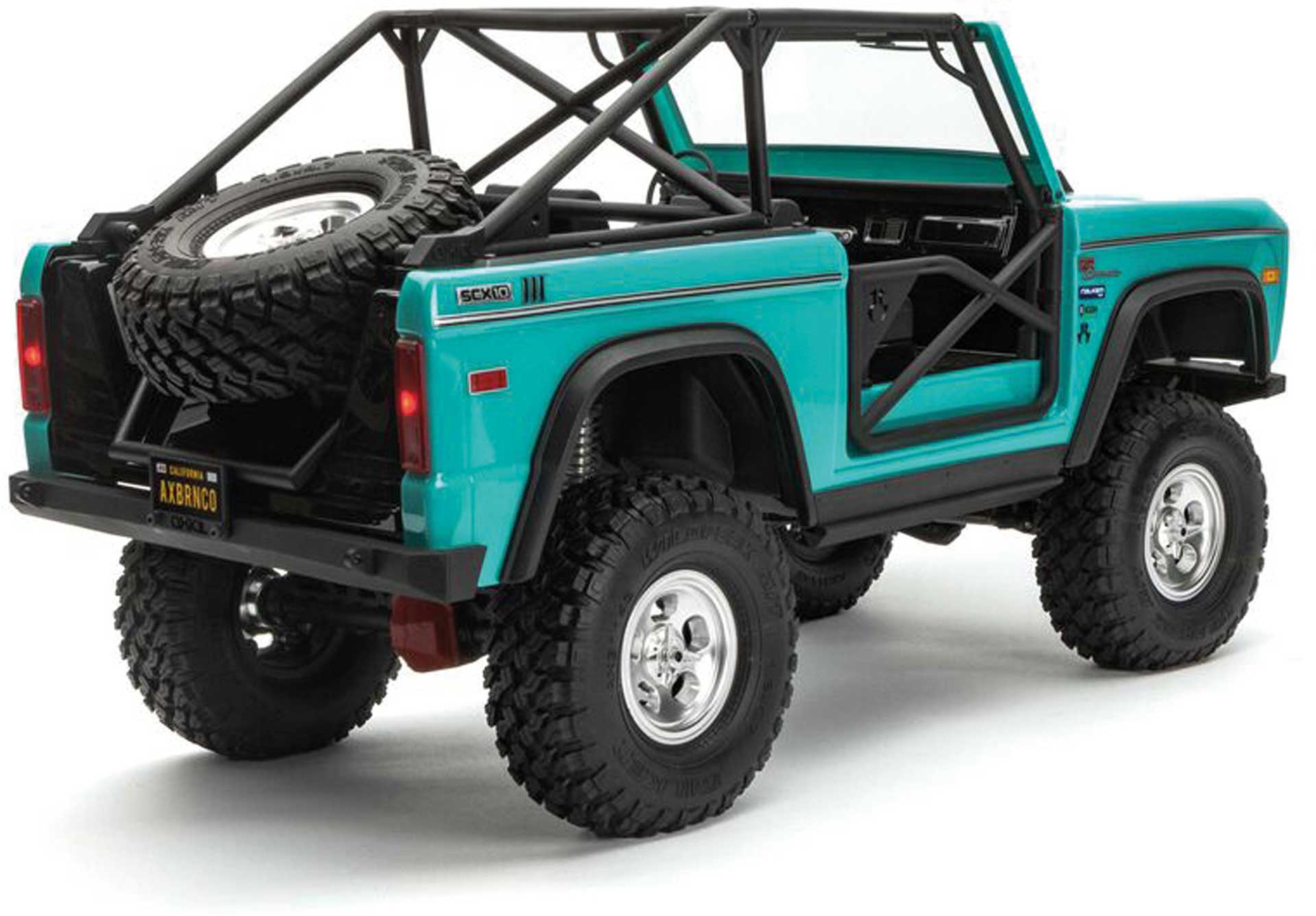 AXIAL SCX10 III Early Ford Bronco 4WD 1/10 RTR Türkis-Blau
