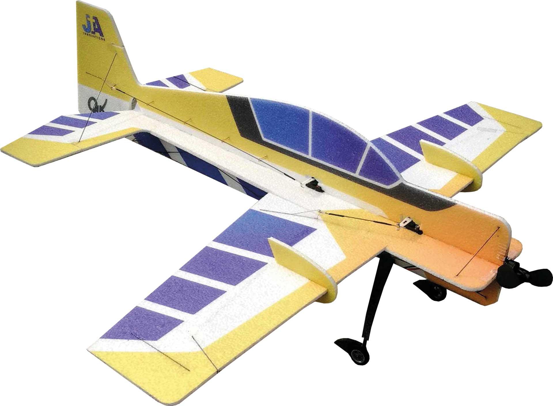 "JTA Innovations Yak 54 (gelb/blau) 32"" EPP 3D-Kunstflug Modell"