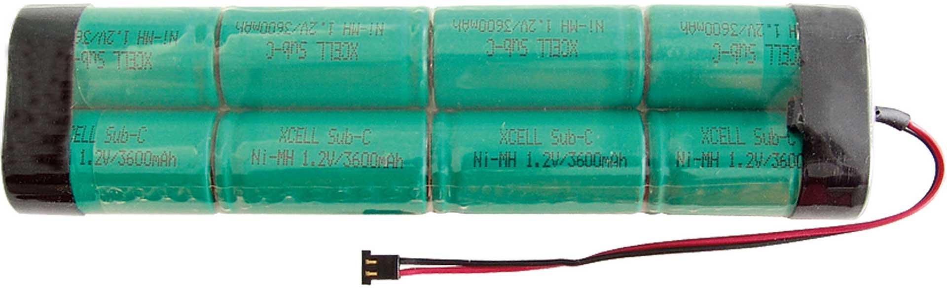 XCELL S-AKKU 3600MAH/9,6V GRAUPNER