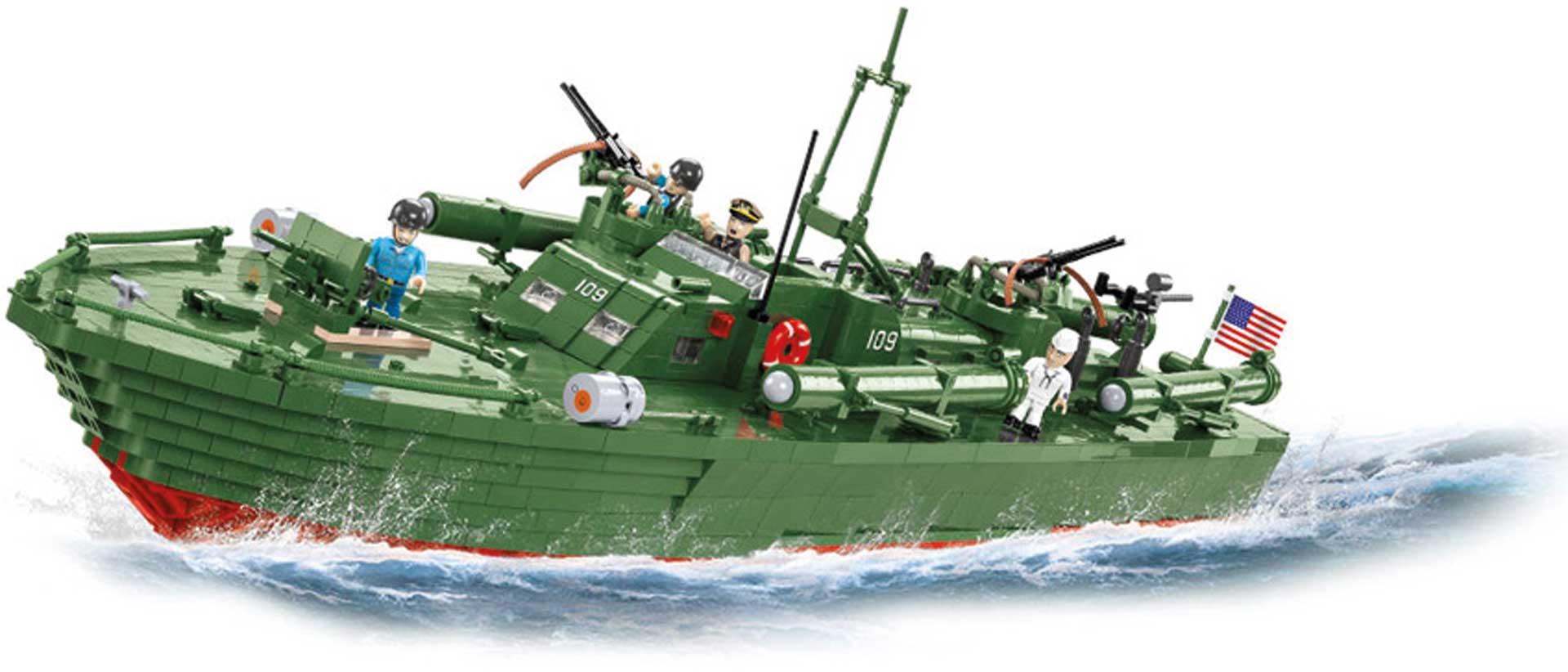 COBI Patrol Torpedo Boat PT-109 (3726 Teile)