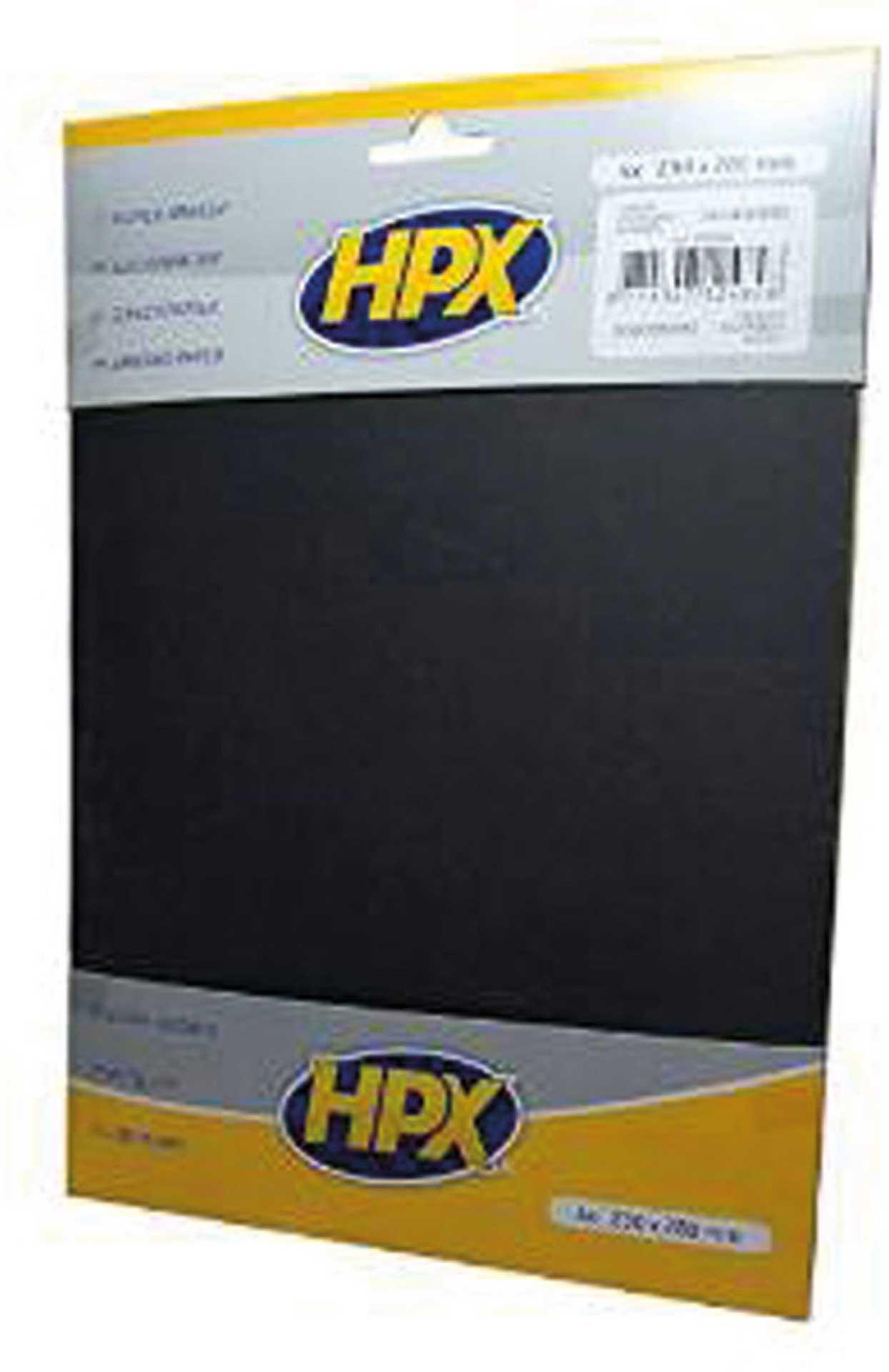 MODELLBAU LINDINGER HPX WET SANDPAPER SET P240/400/600 4PCS.
