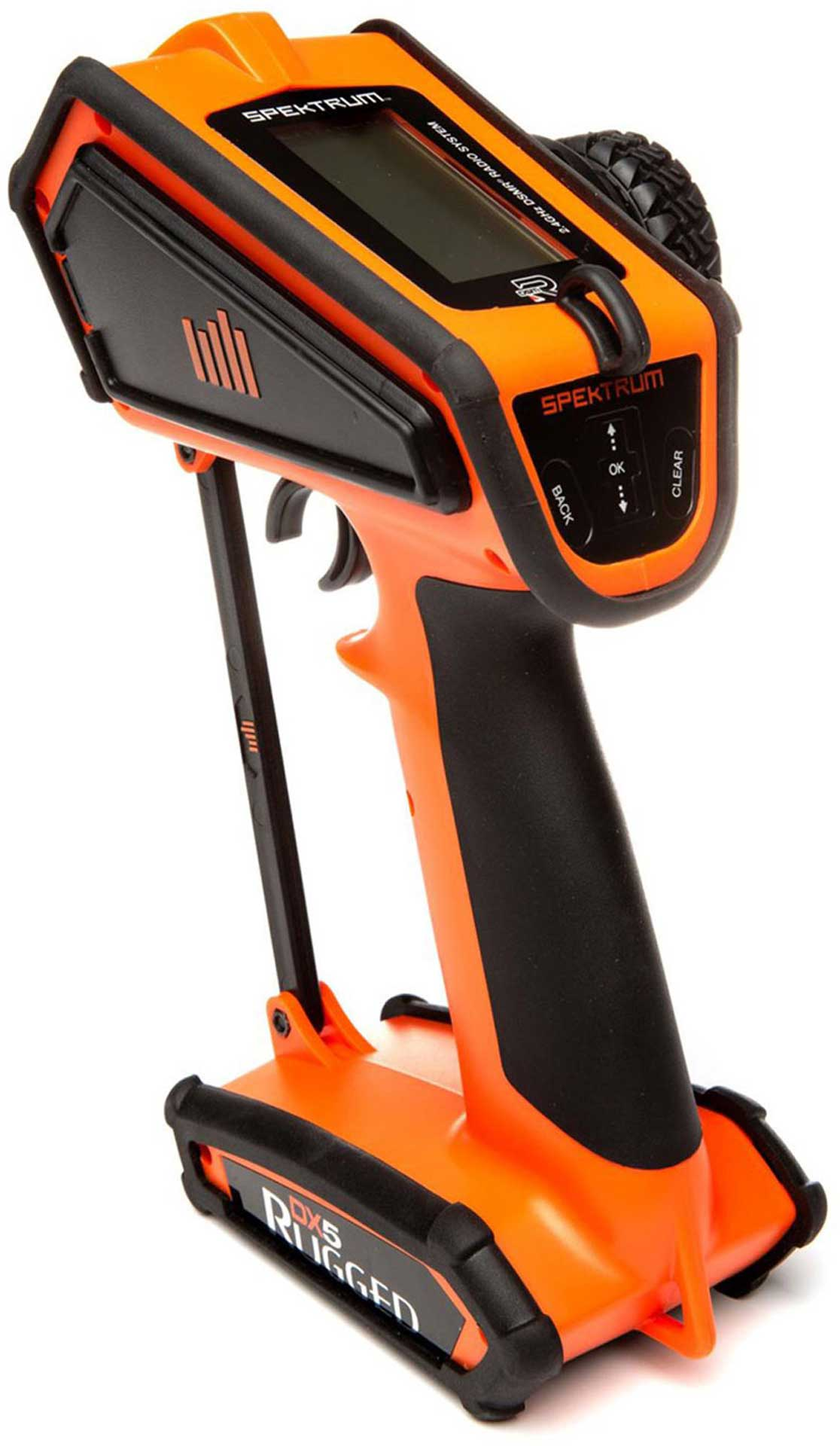 SPEKTRUM DX5 RUGGED DSMR TX ONLY INTL ORANGE SPECIAL EDITION