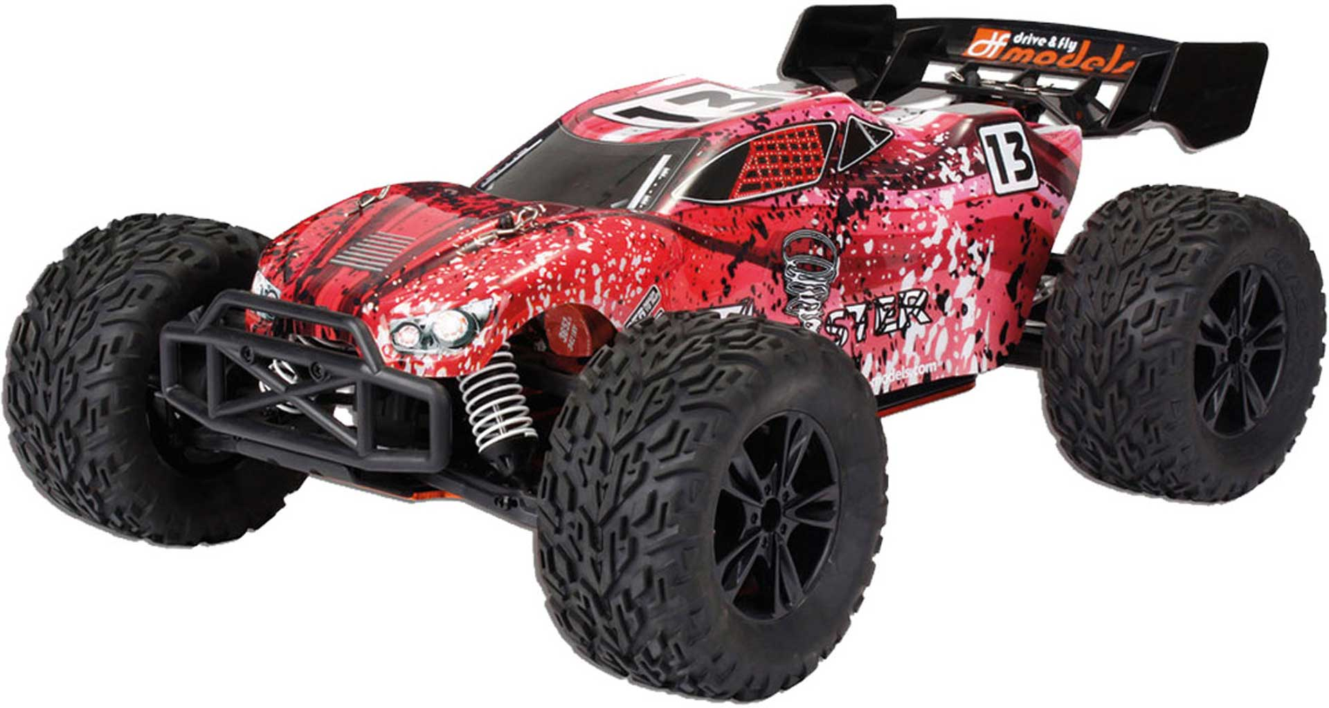 DRIVE & FLY MODELS TW-1 BL TRUGGY RTR BRUSHLESS 4WD 1/10XL ROT