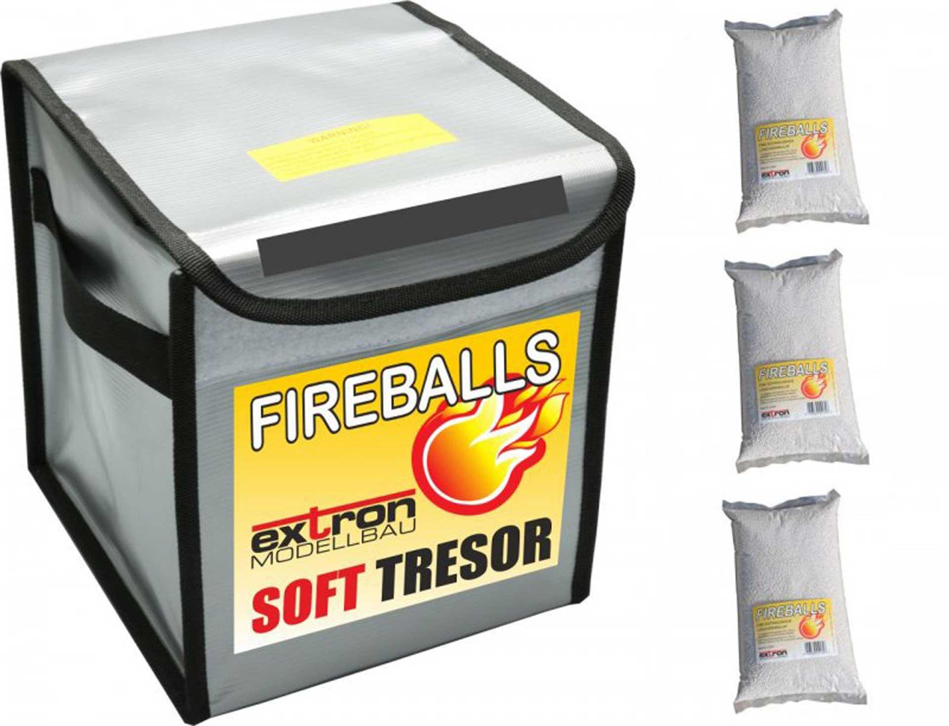 EXTRON FIREBALLS SOFT TRESOR INKL. 3 X 1 LITER
