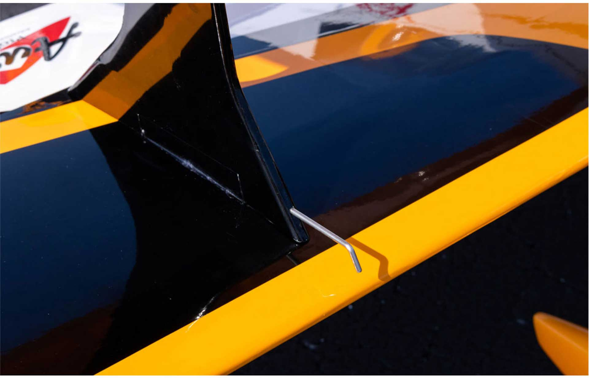 PREMIER AIRCRAFT MAMBA 120CC YELLOW ARF BIPLANE