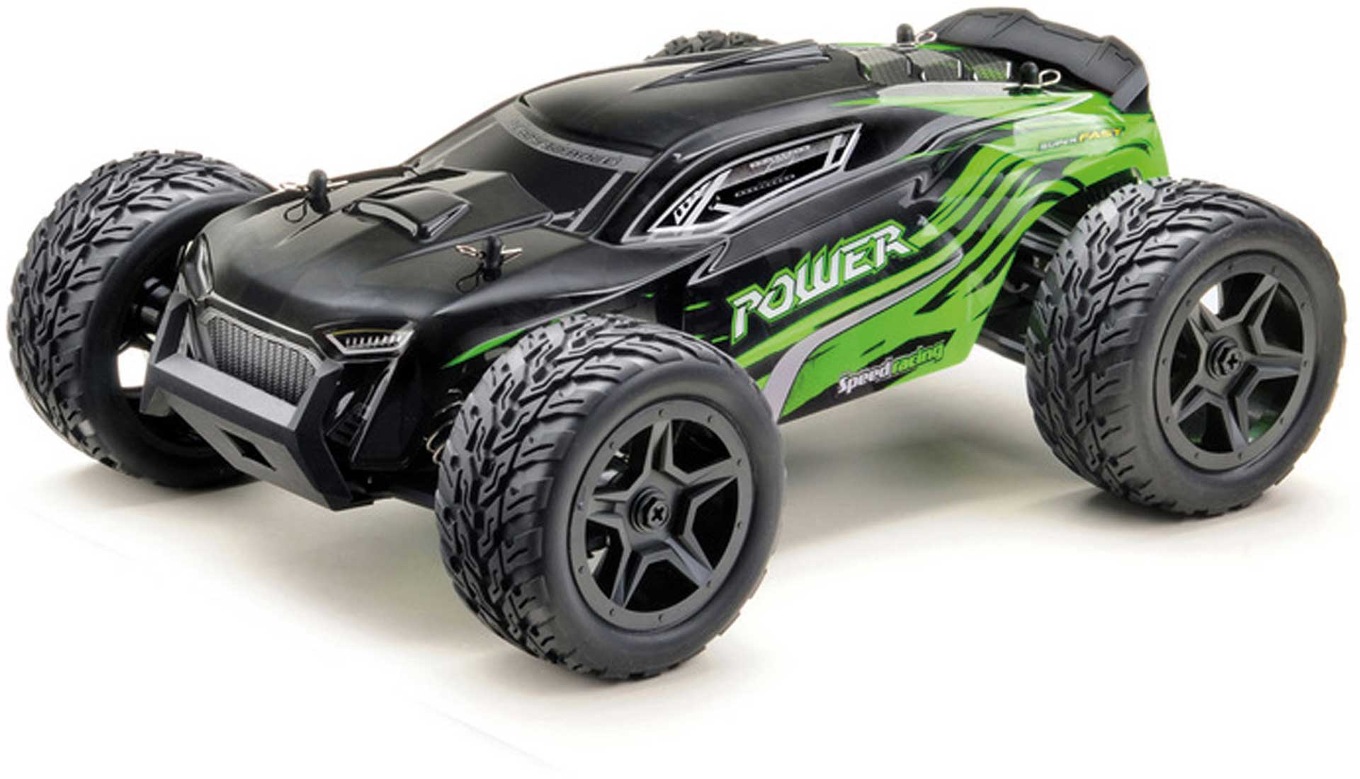"ABSIMA 1:14 High-Speed Truggy ""POWER"" 4WD RTR schwarz/grün"