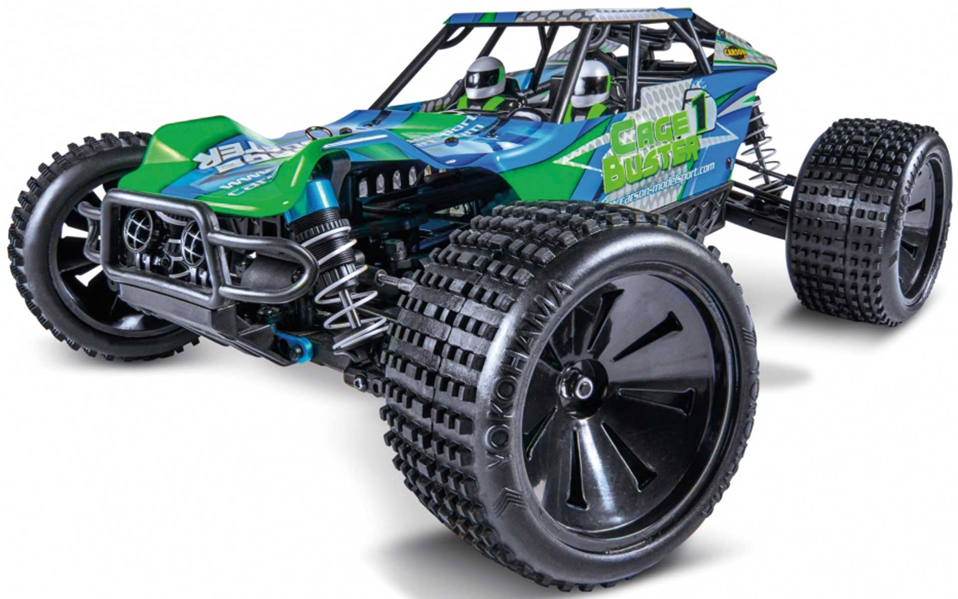 CARSON HOSS 4x4 VXL 3S 1/10 RTR Monster Truck Shadow-Red Brushless without battery/charger