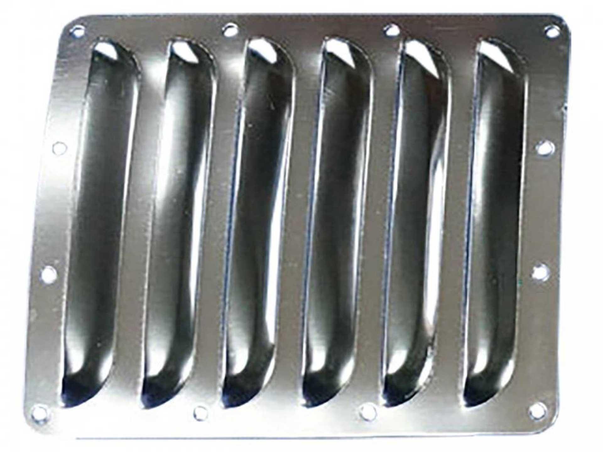PICHLER Lüftungsgitter 120x100mm aus 0,5mm Aluminium