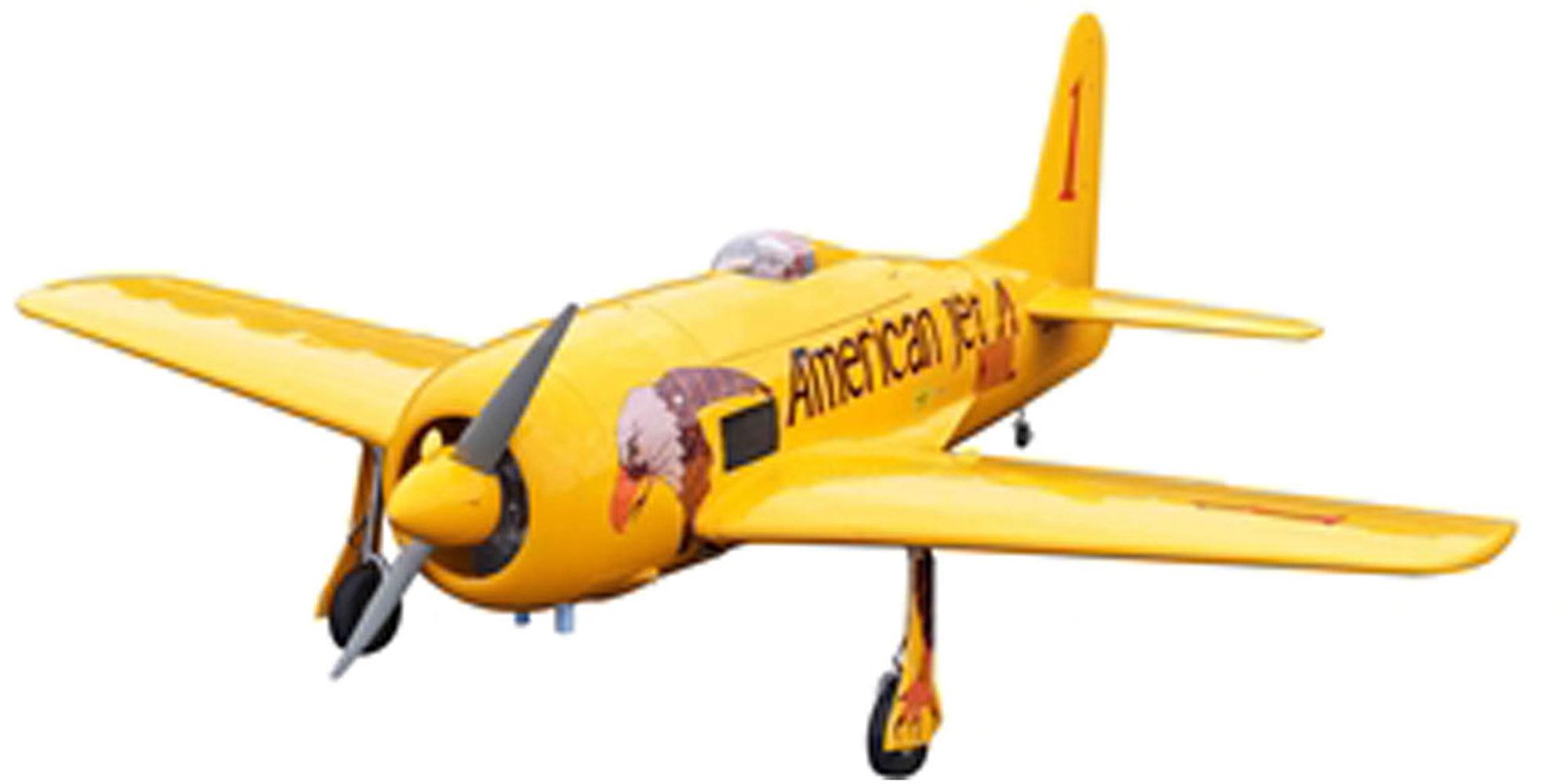 "SG-MODELS GRUMMAN F8F-2 BEARCAT ""CONQUEST I"" ARF WARBIRD 1,8M"