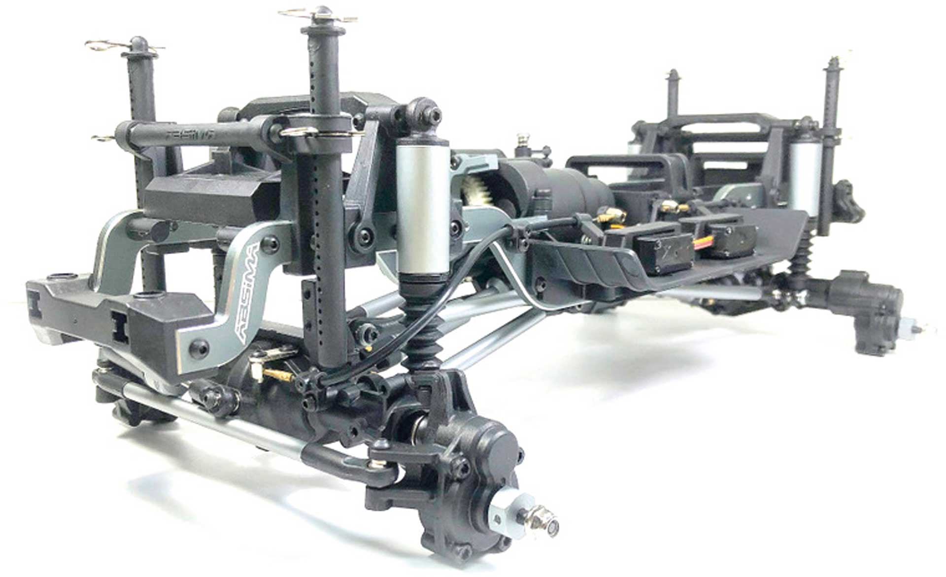 ABSIMA CR3.4 1/10 Crawler Chassis pre-assembled