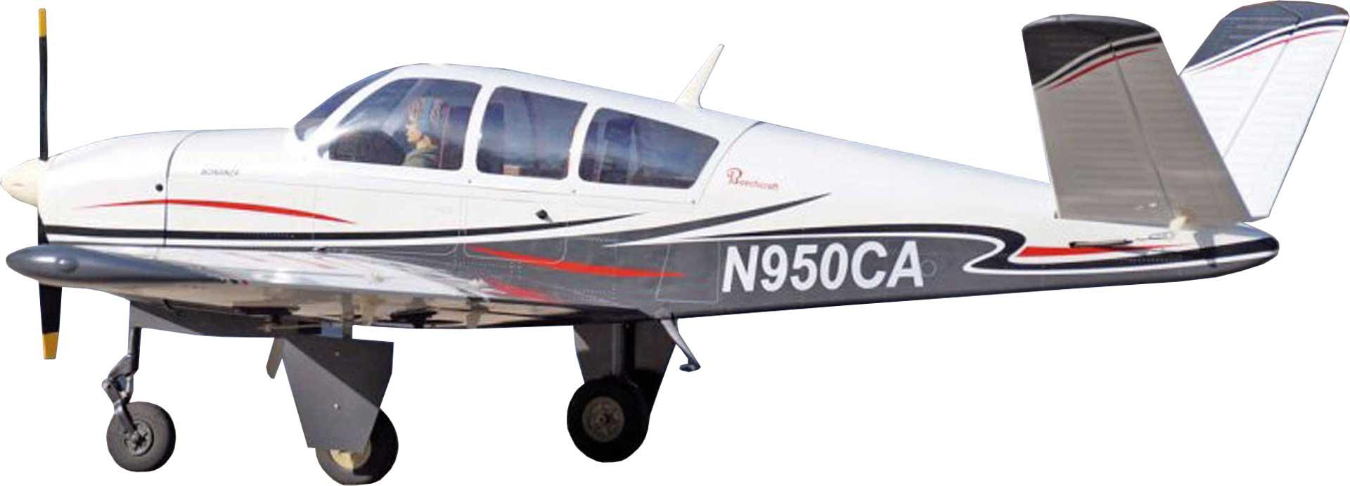 VQ MODELS Beechgraft Bonanza V-tail ARF