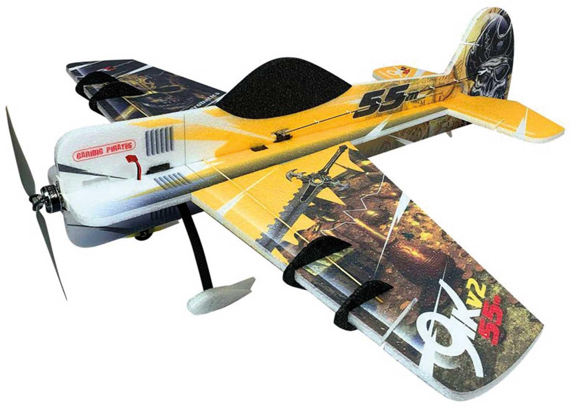 RC-Factory Yak 55 (gelb) / 800 mm