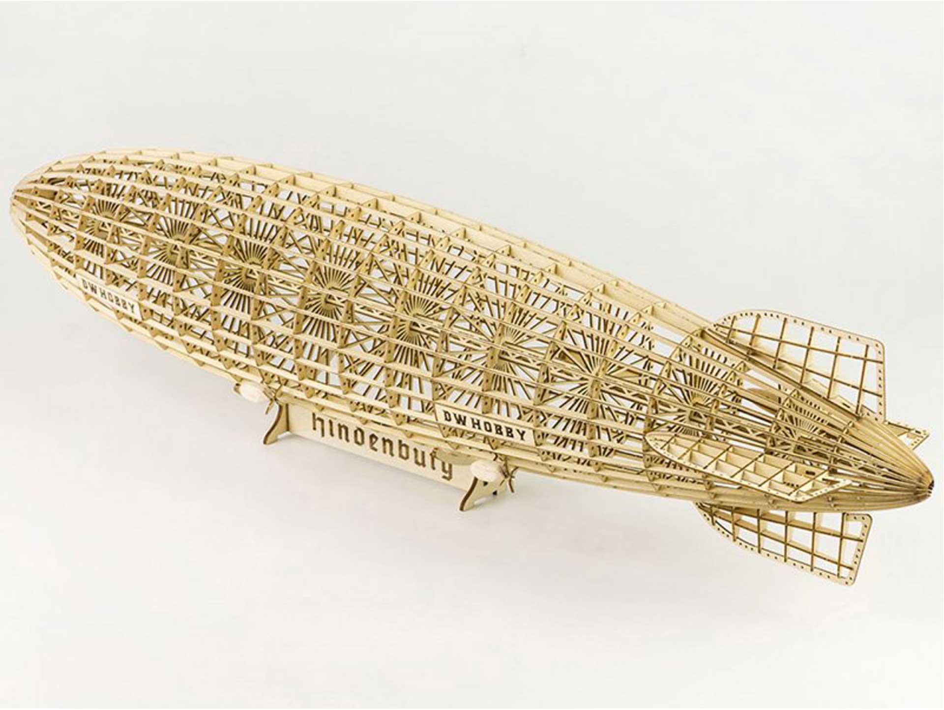 Pichler Hindenburg LZ-129 / 600mm 3D-Puzzle Holzbausatz