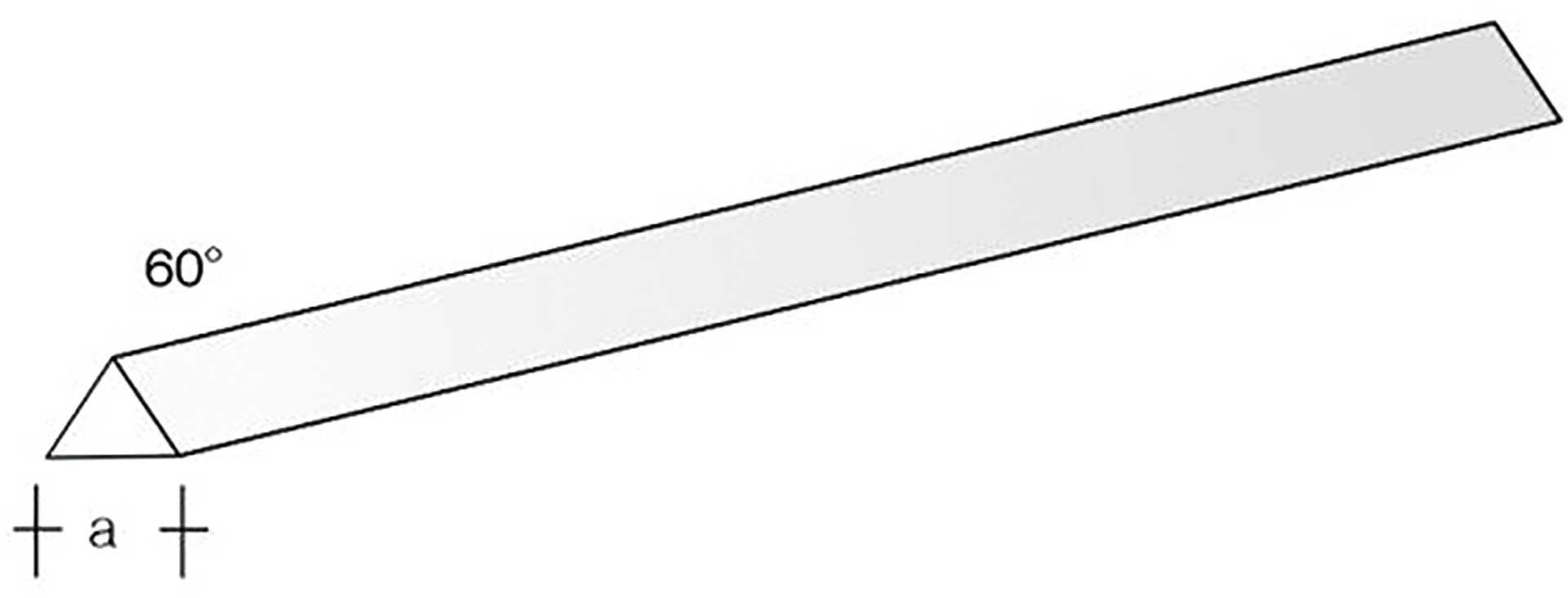 AERONAUT PP-3kant/60 330x2,0 r