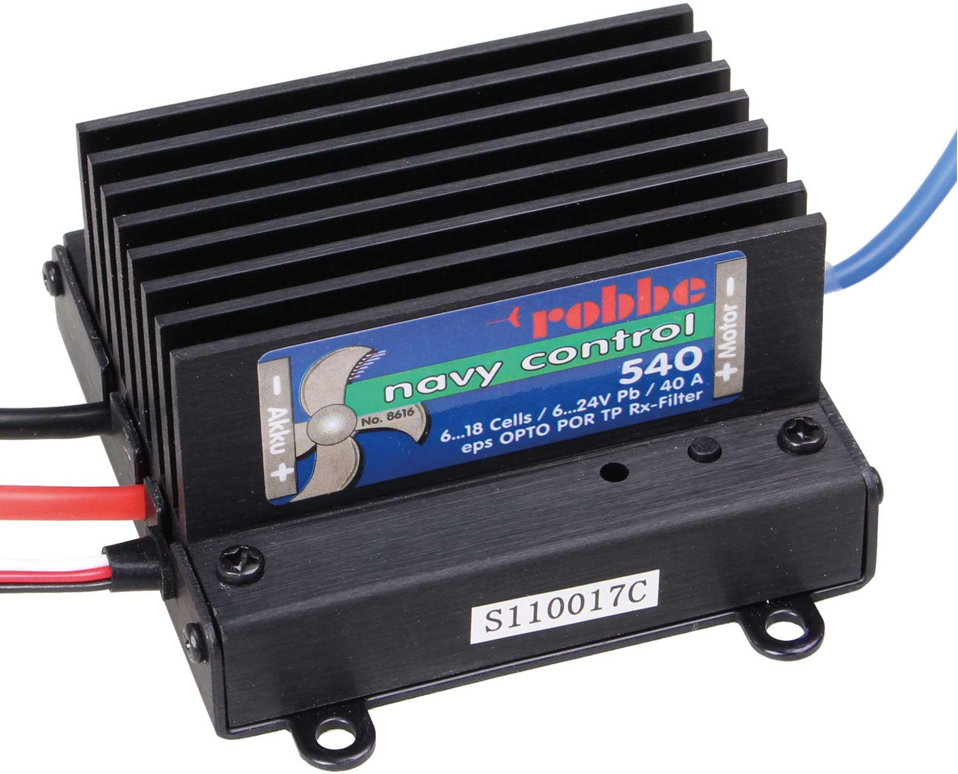 Robbe Modellsport NAVY CONTROL 540 R Regler