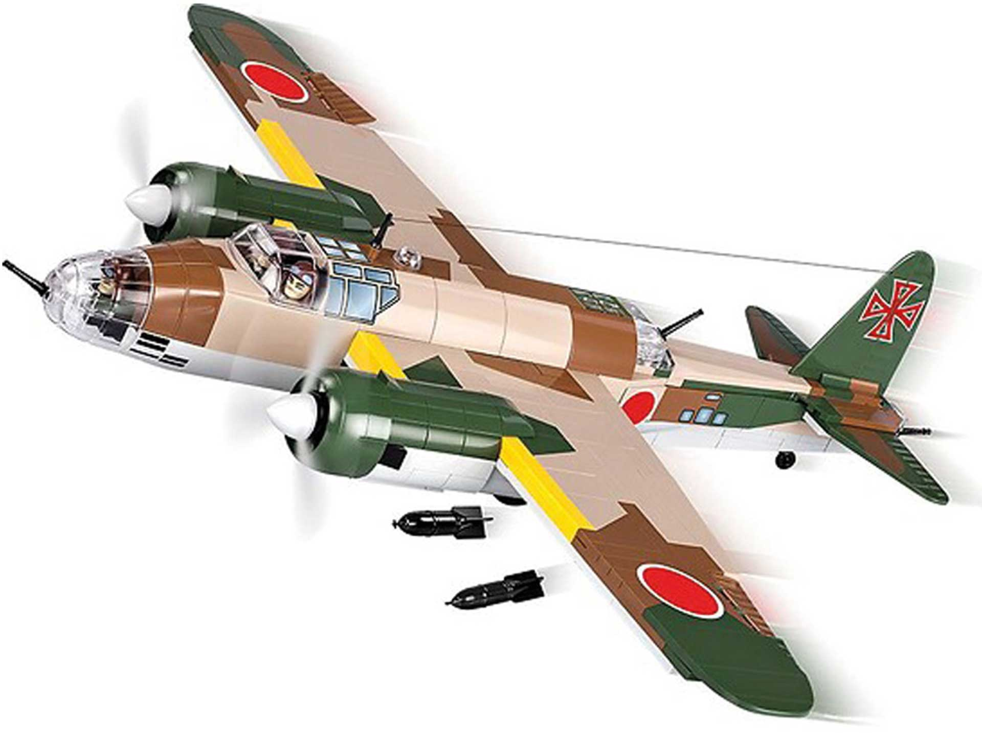 COBI Nakajima Ki-49 Helen (530 Teile) Klemmbausteine