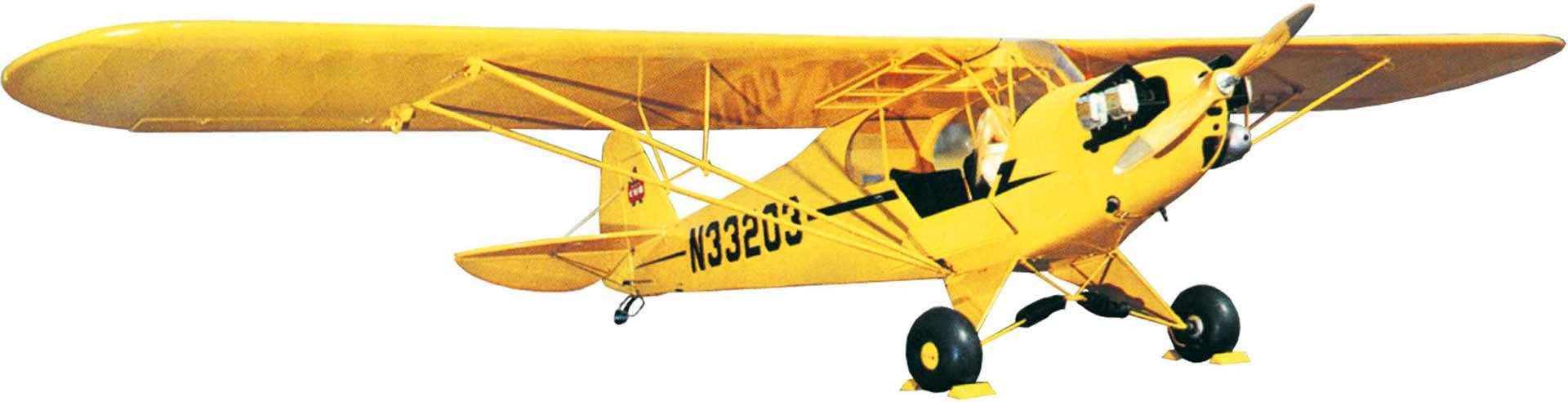 SIG PIPER CUB J-3 1,81M HOLZBAUSATZ
