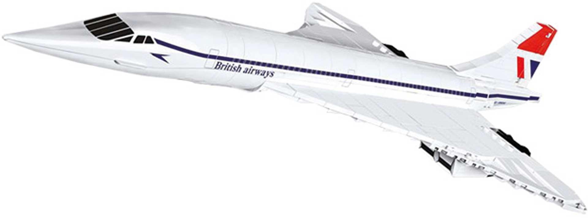 COBI Concorde G-BBDG (455 Teile) Bausatz Klemmbausteine