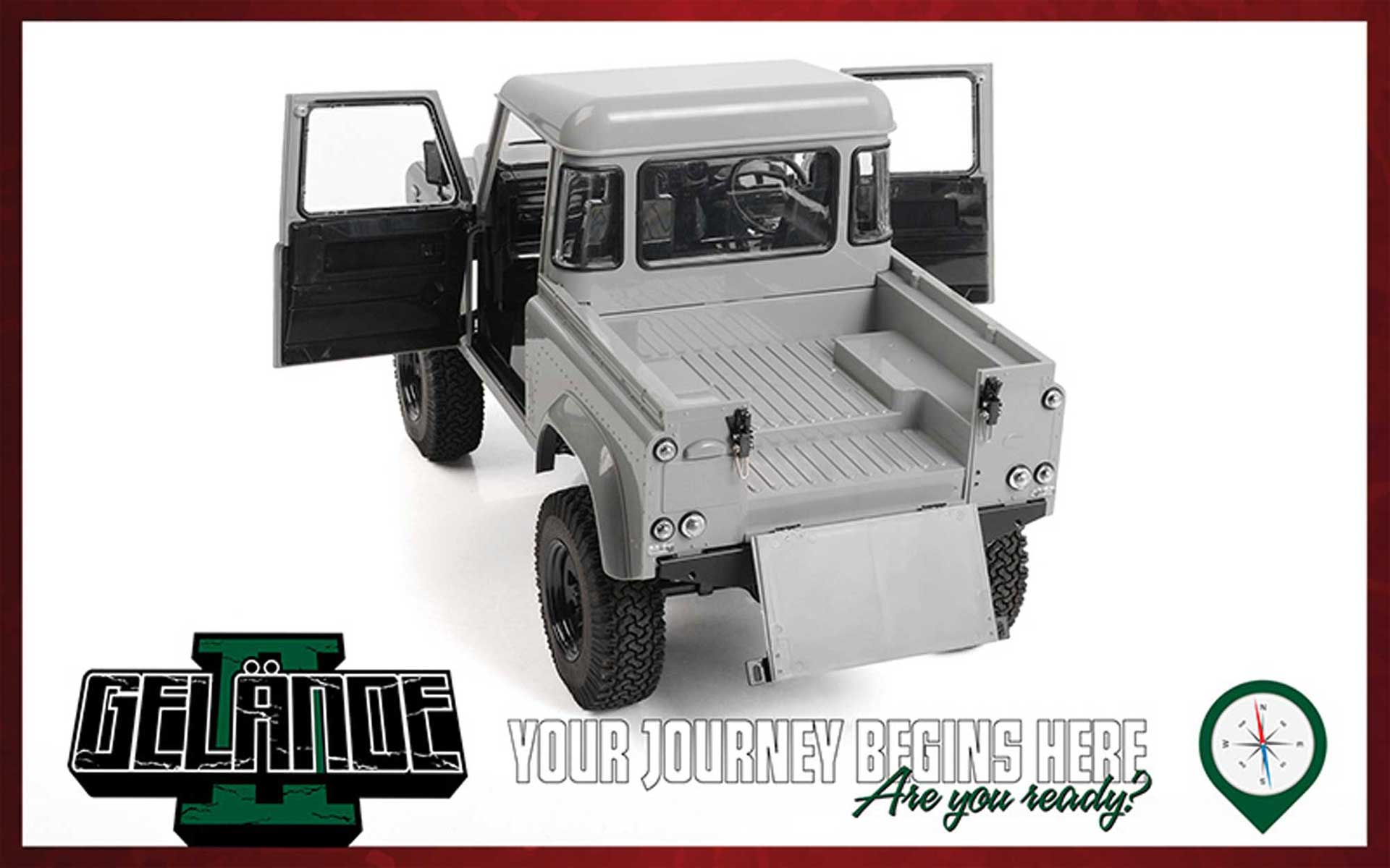 RC4WD Gelande II Truck Kit incl. 2015 Land Rover Defender Chassis