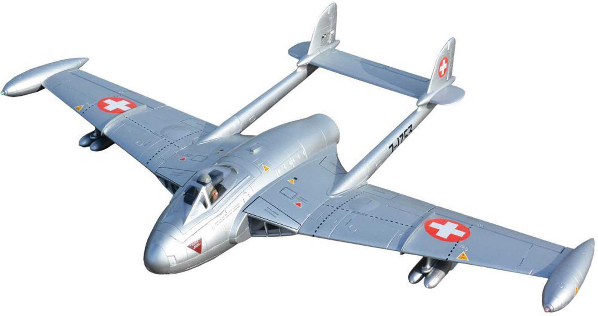 "FREEWING Venom DH-112 V2 90mm EDF ""silber"" PNP mit Inrunner Motor"
