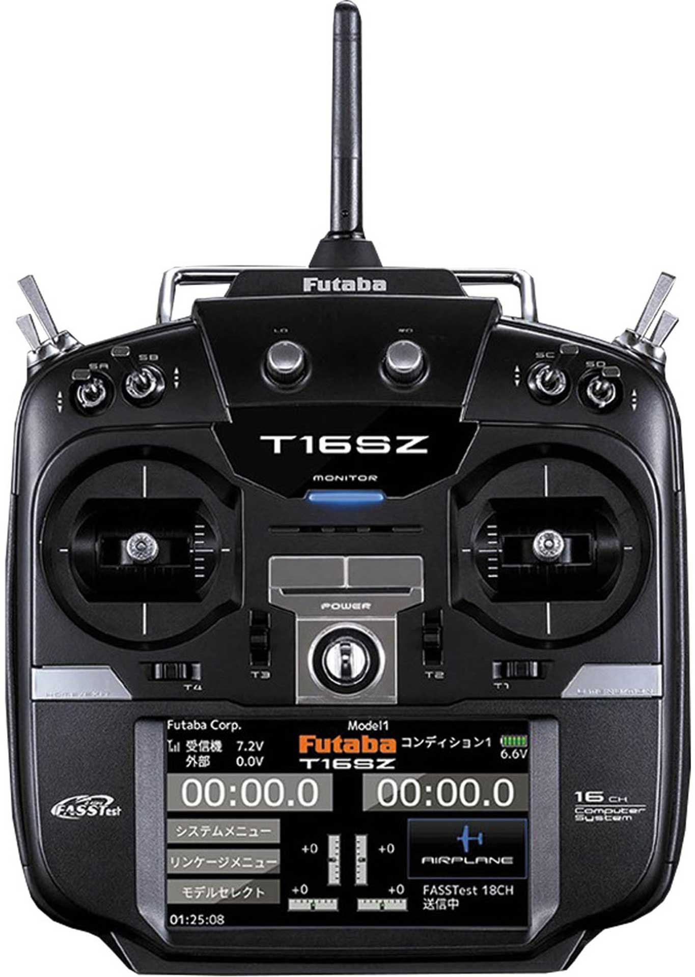 FUTABA T16SZ FASSTEST MIT R7008SB MODE 1