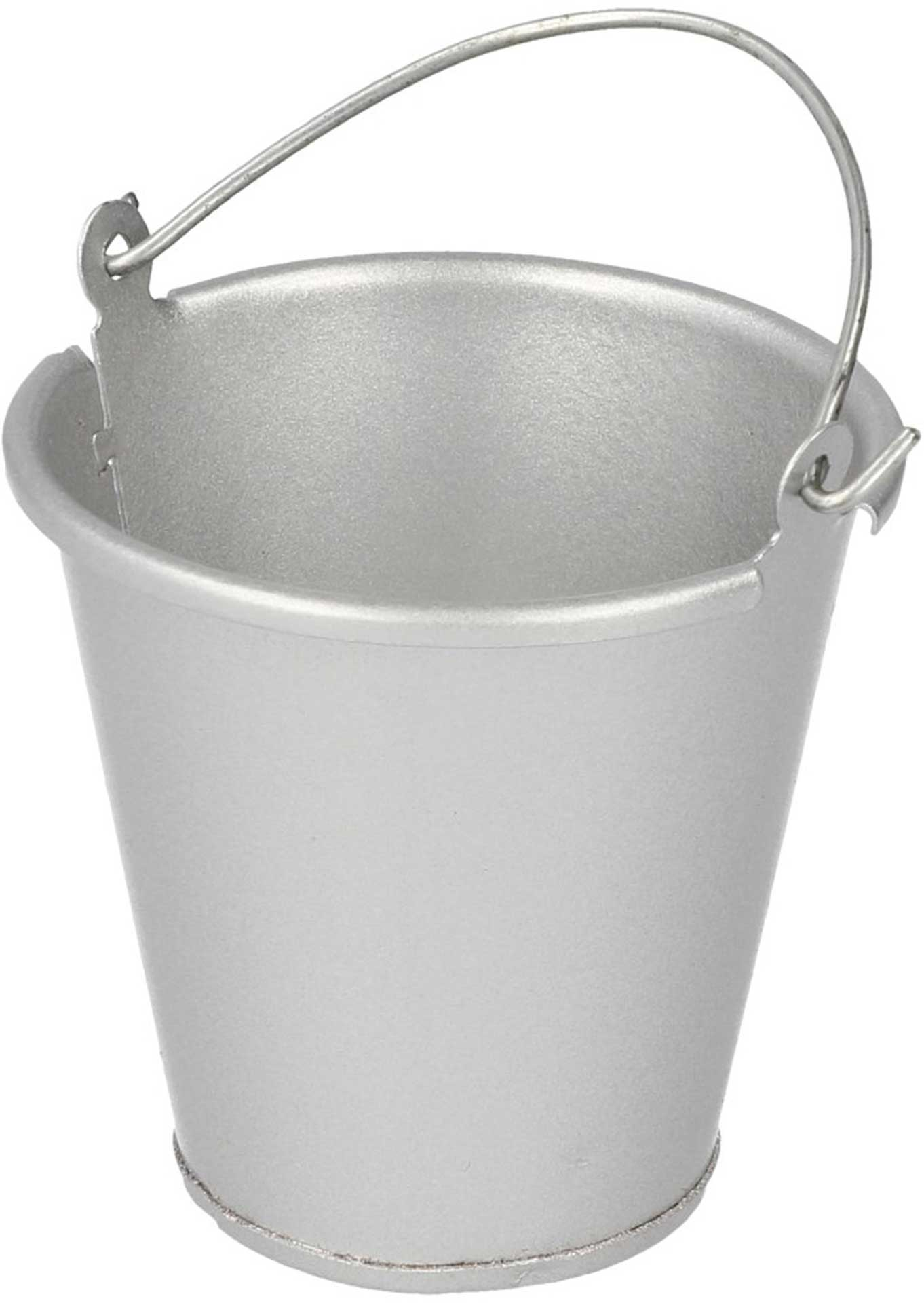 ROBITRONIC Metal Bucket Silver 35x35mm