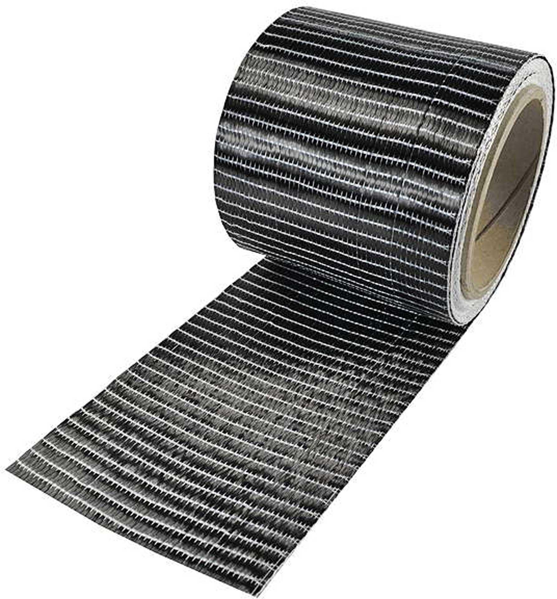 R&G Kohlefaserband 250 g, 6K, UD (100 mm) Rolle/ 5 m