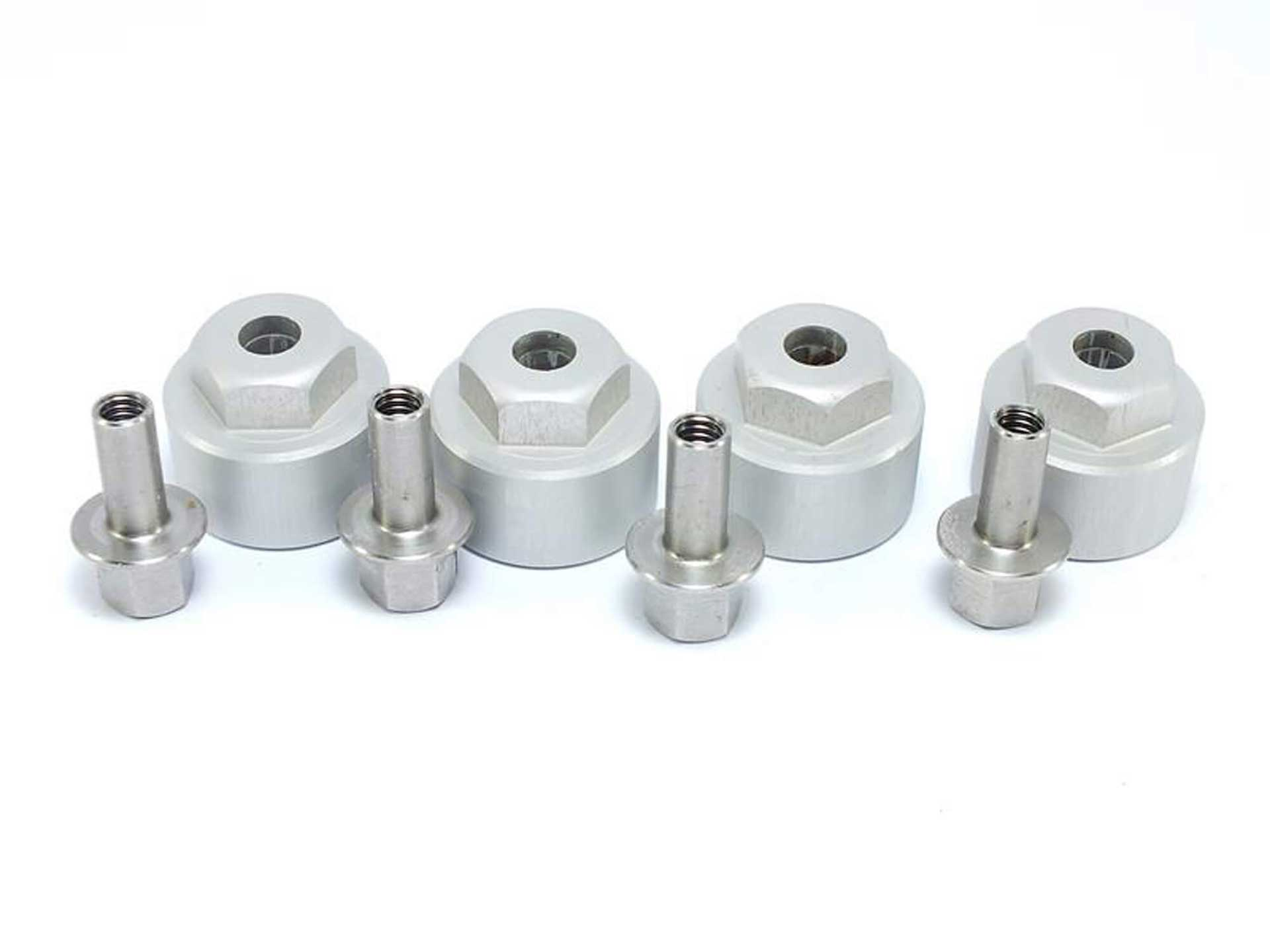 Metsafil Aluminum Spurverbreiterung 12mm (4 St.)