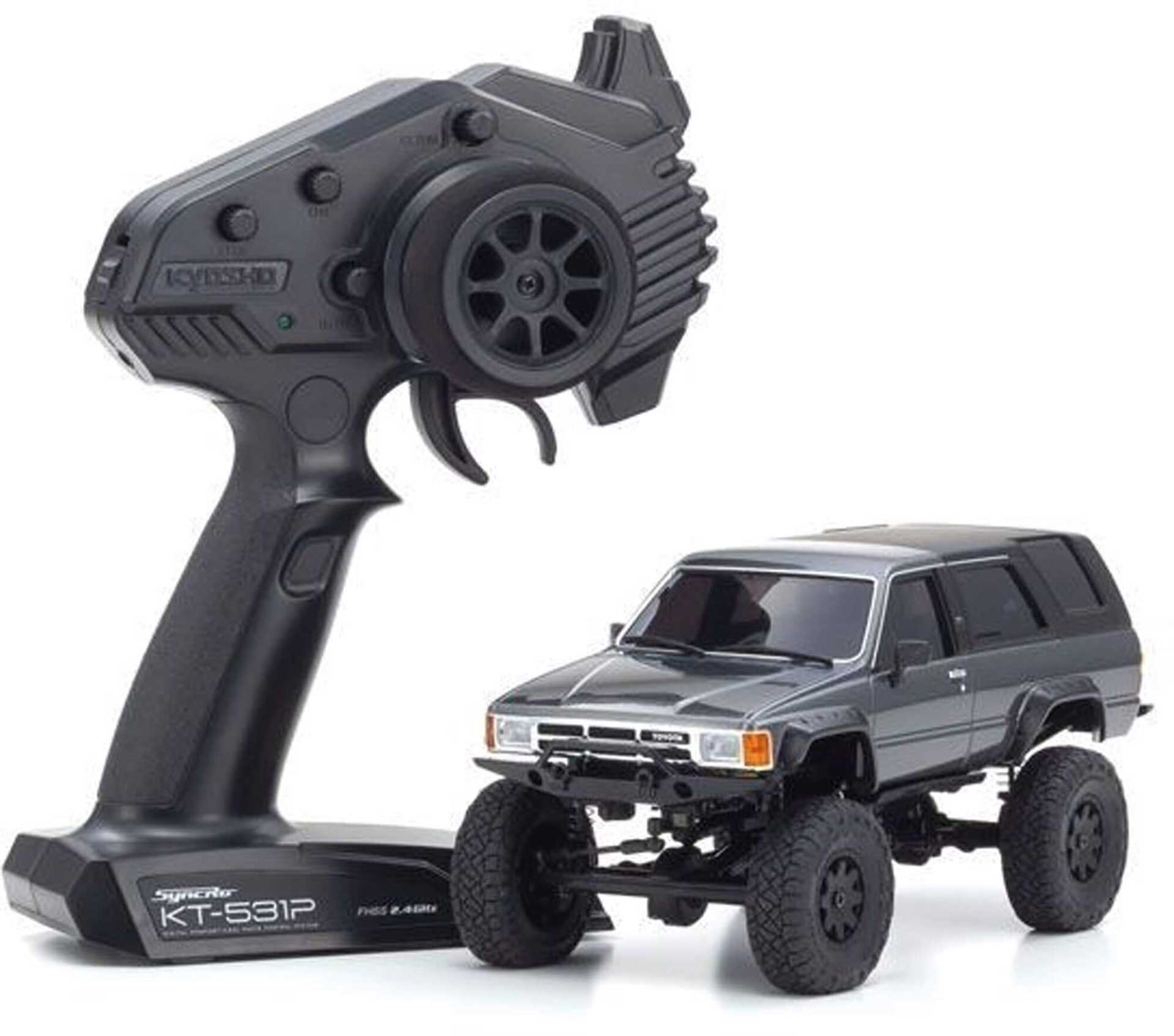 KYOSHO Mini-Z 4x4 MX-01 Toyota 4-Runner Metallic-Grau (KT531P)