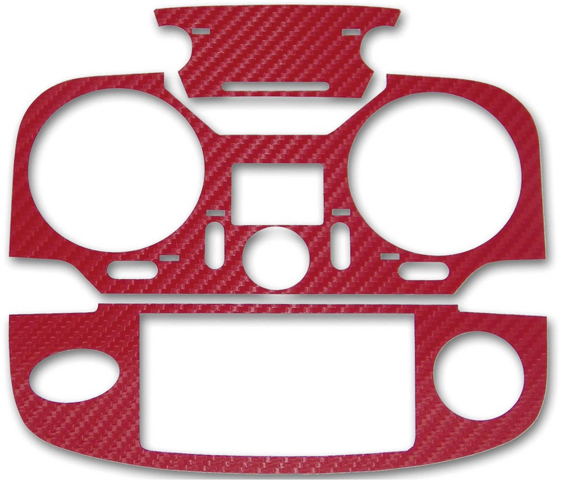 ACT T12K 3D-Film Carbonlook red
