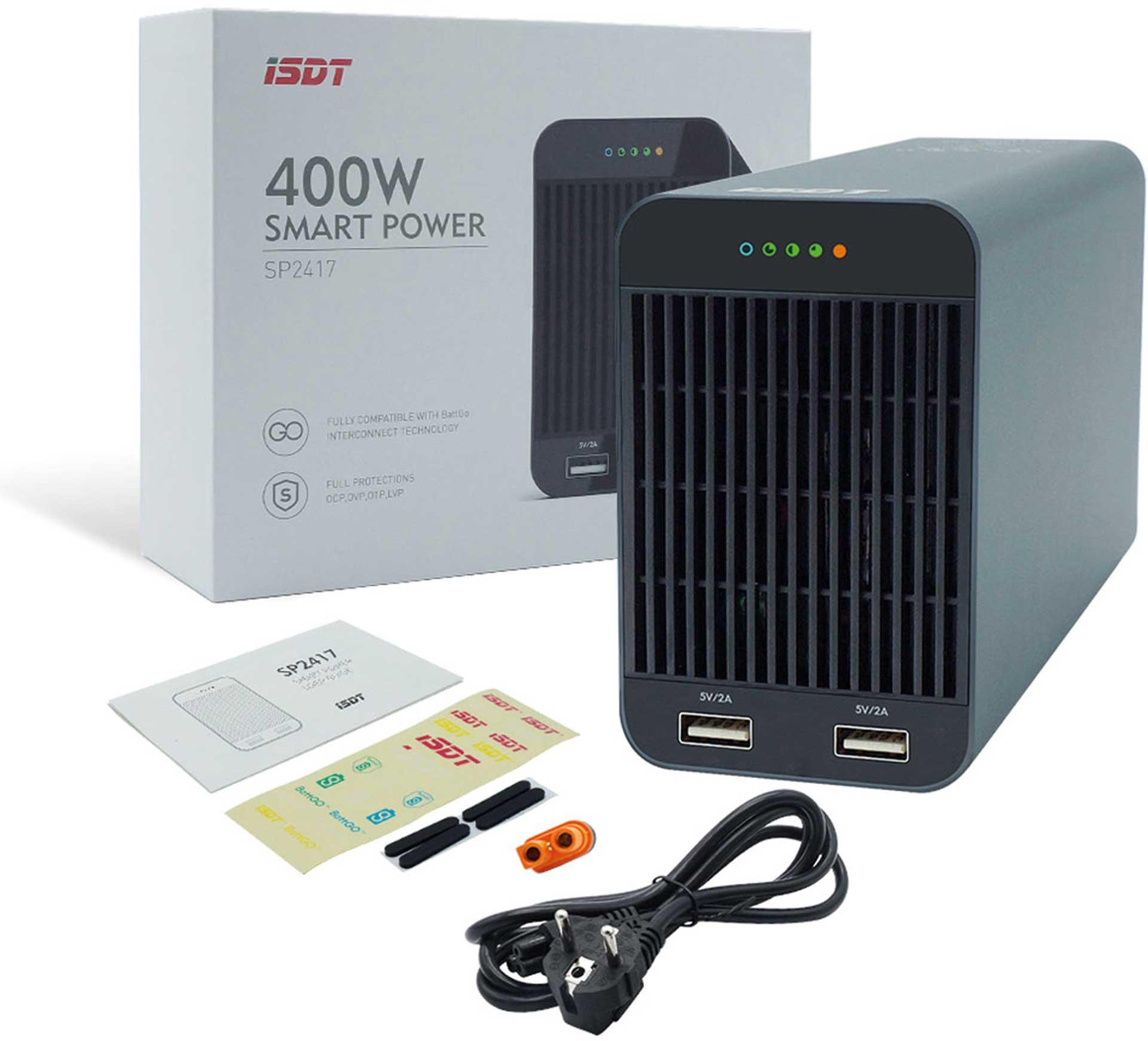 ISDT SP2417 24V SMART POWER NETZGERÄT 400W MIT BATTGO®