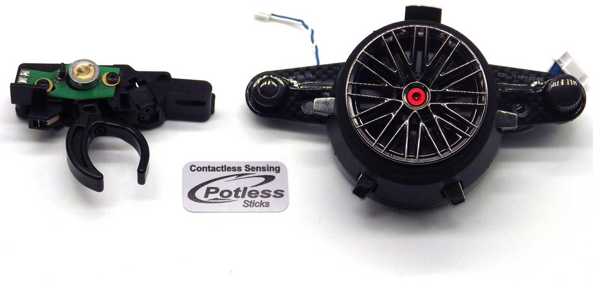 Futaba T7PXR Potless 2,4Ghz Fernsteuerung V3 + R334SBS + LiPo 2800mAh + Lader