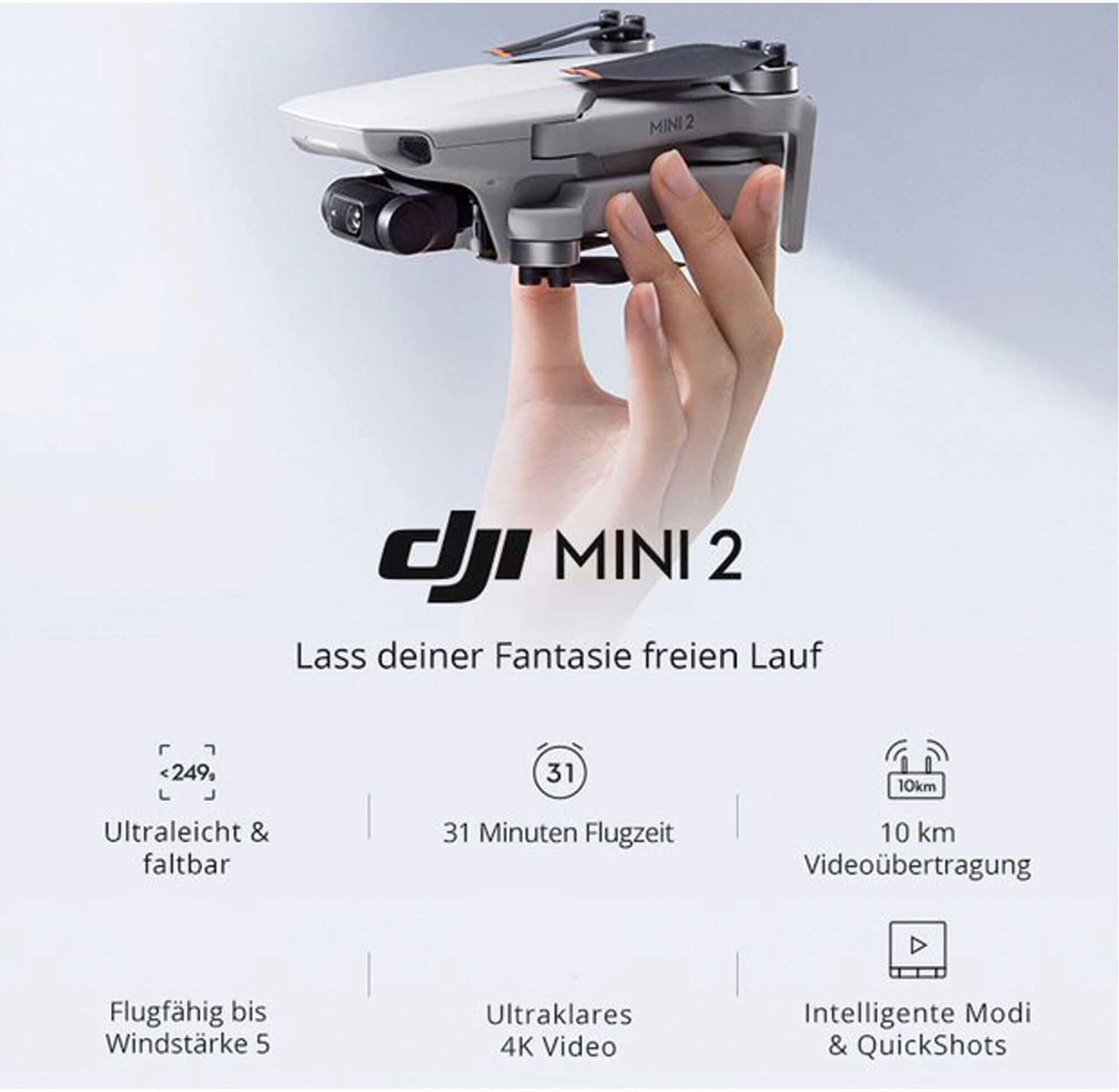 DJI Mini 2 Fly More Combo