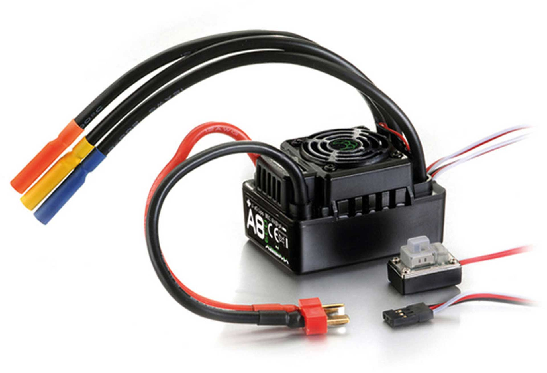 ABSIMA BRUSHLESS REGLER THRUST A8 ECO 120A WP
