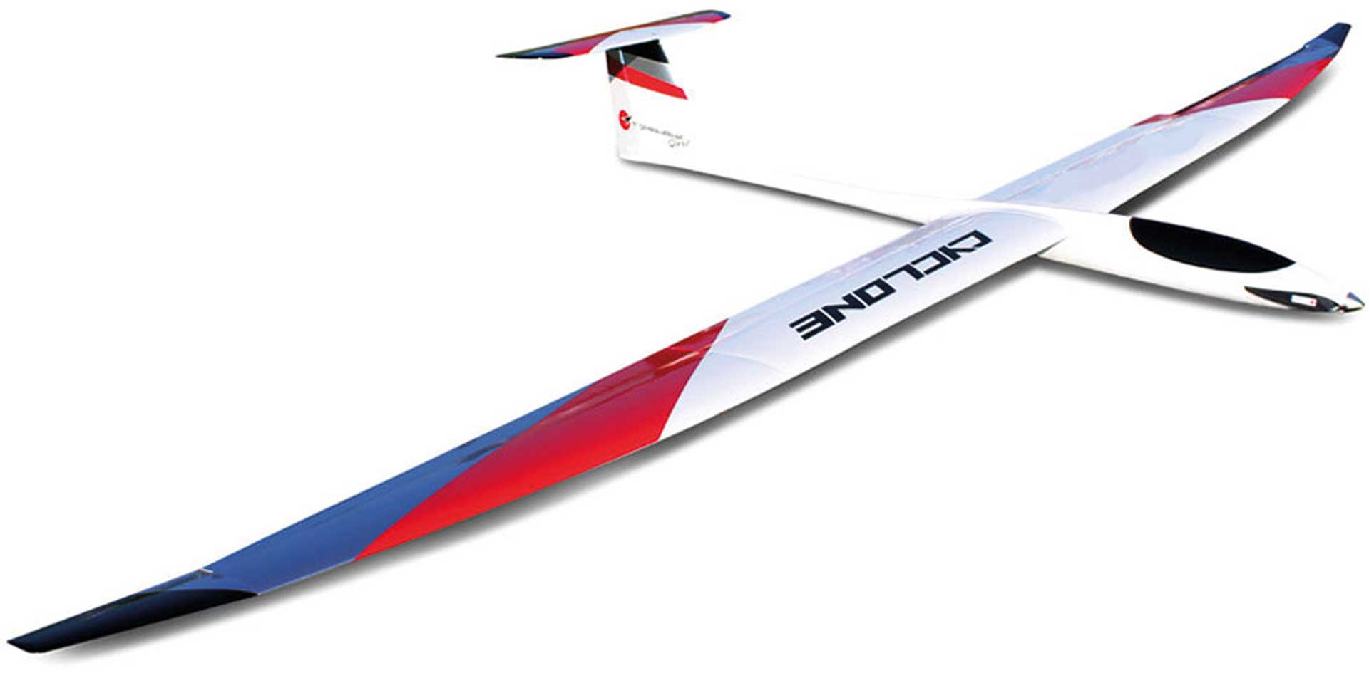 ROBBE CYCLONE 5,5 M ARF WITH GRP FUSELAGE, TWO 3- PARTIAL WINGS WITH ABACHI-PLANKING