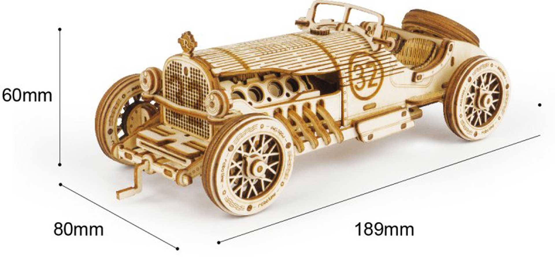 PICHLER Grand Prix Car (Lasercut Holzbausatz)