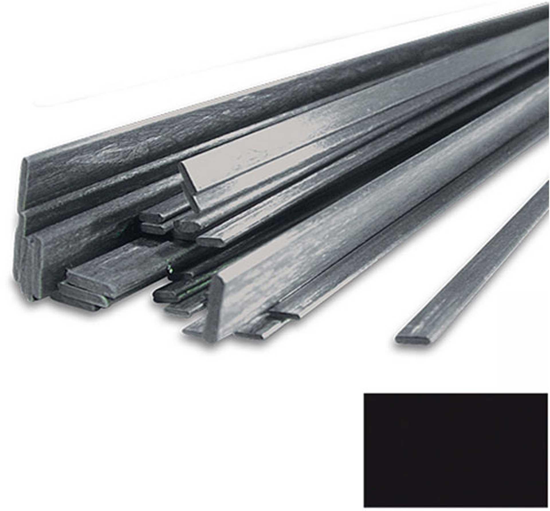 R&G CFK-Rechteckstab (12,0 x 2,0) x 1000 mm