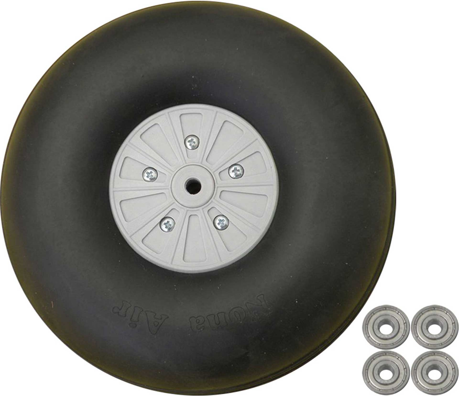 PLANET-HOBBY WHEELS HEAVY DUTY 150MM 2 PCS. WITH BALL BEARINGS