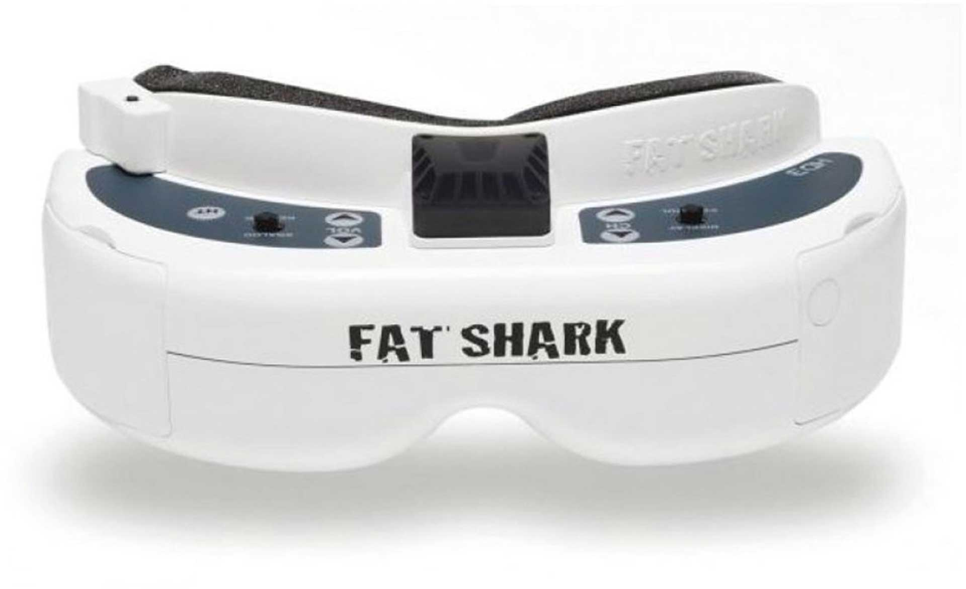 FAT SHARK DOMINATOR HD3 FPV VIDEOBRILLE INCL. AKKU