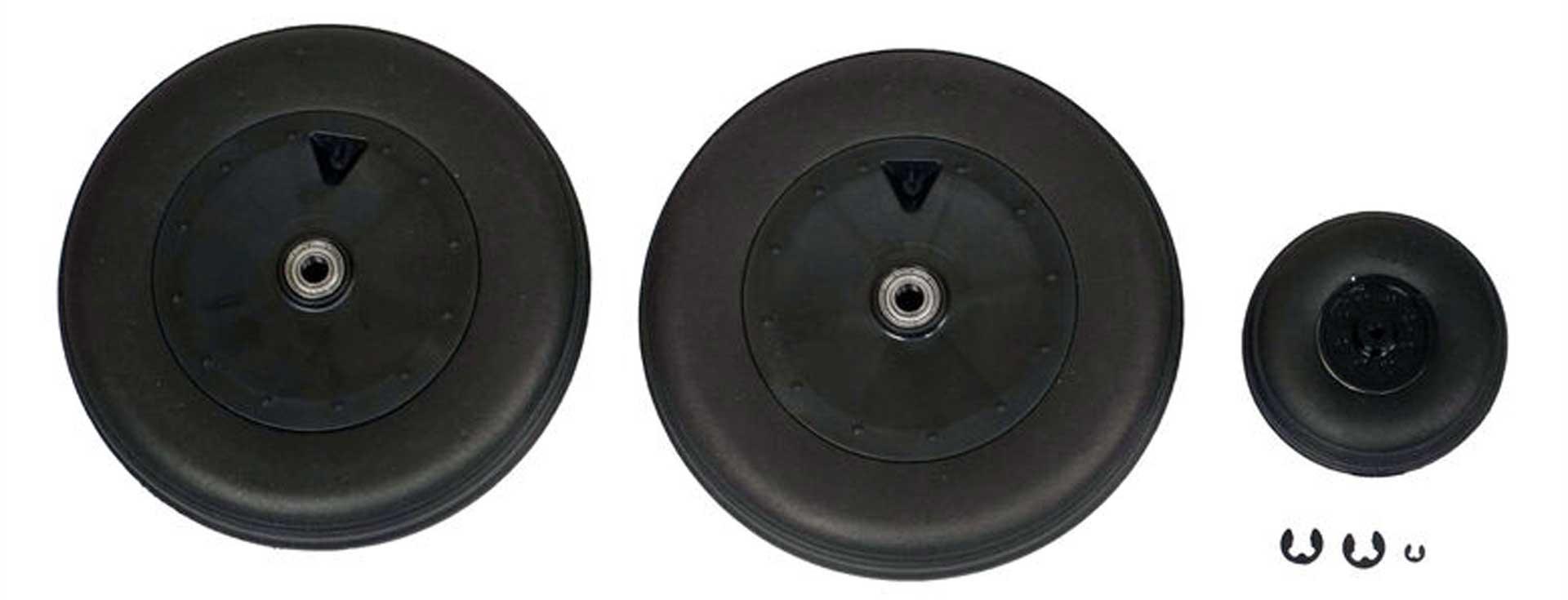 E-Flite Main Wheel Set; Focke-Wulf Fw190A 1.5m